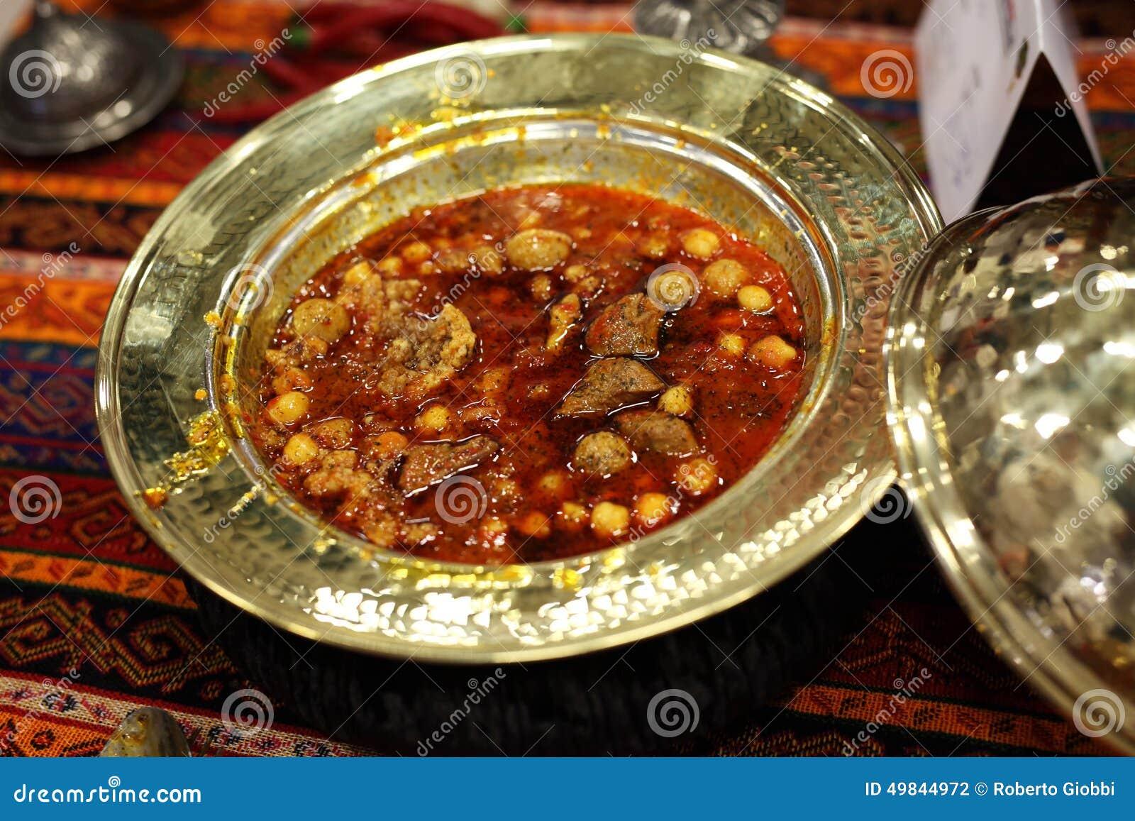 Nourriture traditionnelle turque de viande photo stock - Cuisine turc traditionnel ...