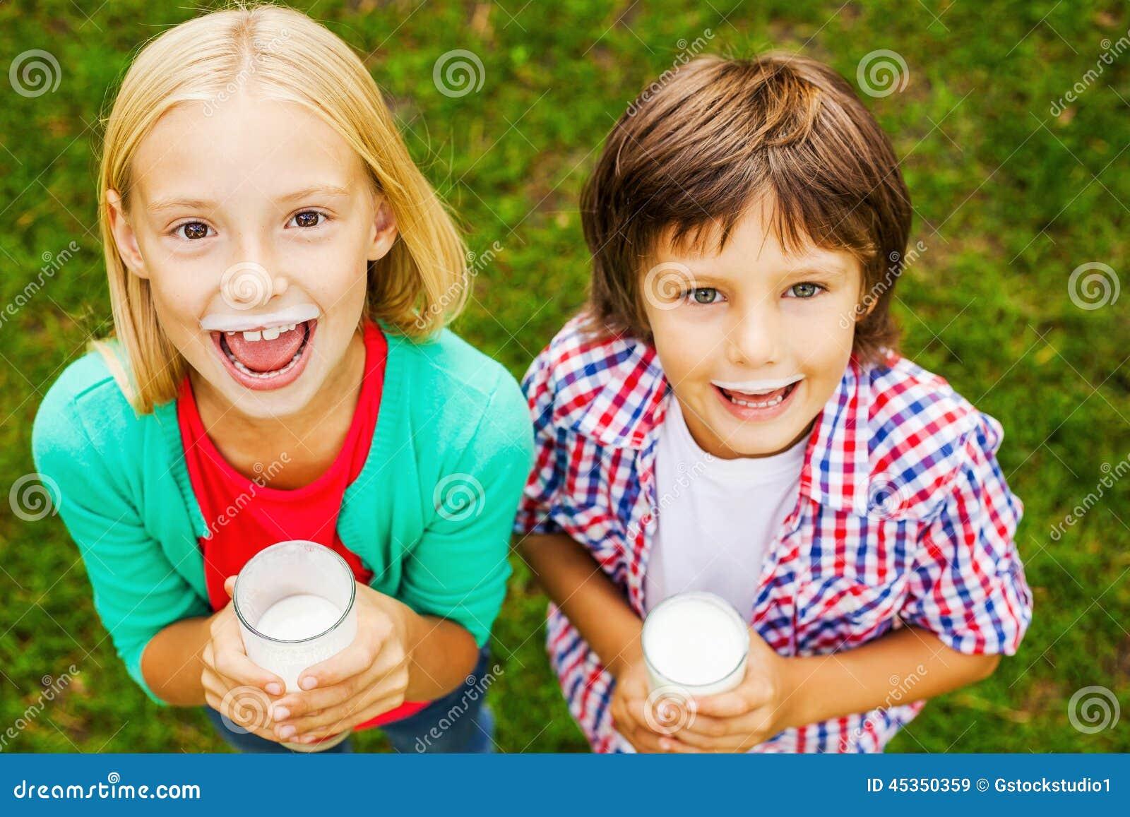 Nous aimons le lait