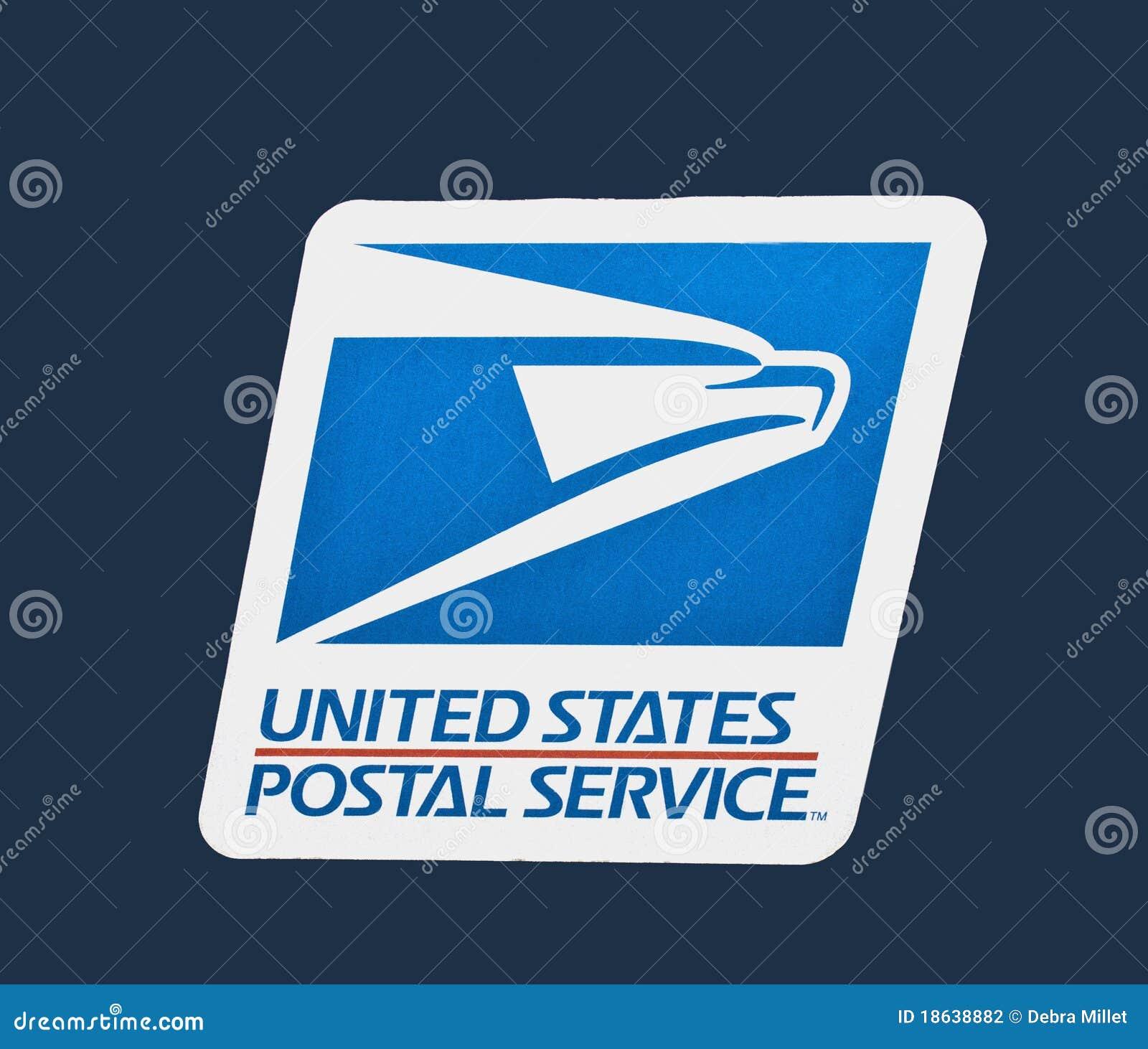 Nous logo de service postal