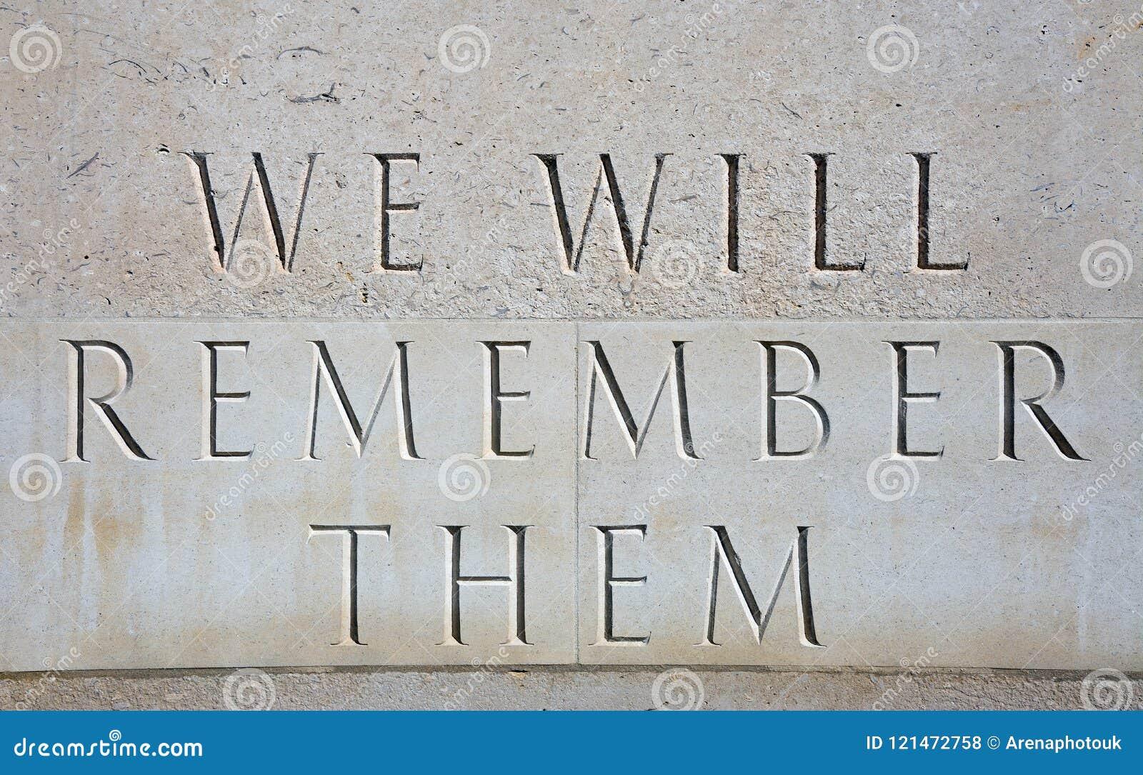 Nous nous rappellerons les inscription à l arborétum commémoratif national, Alrewas
