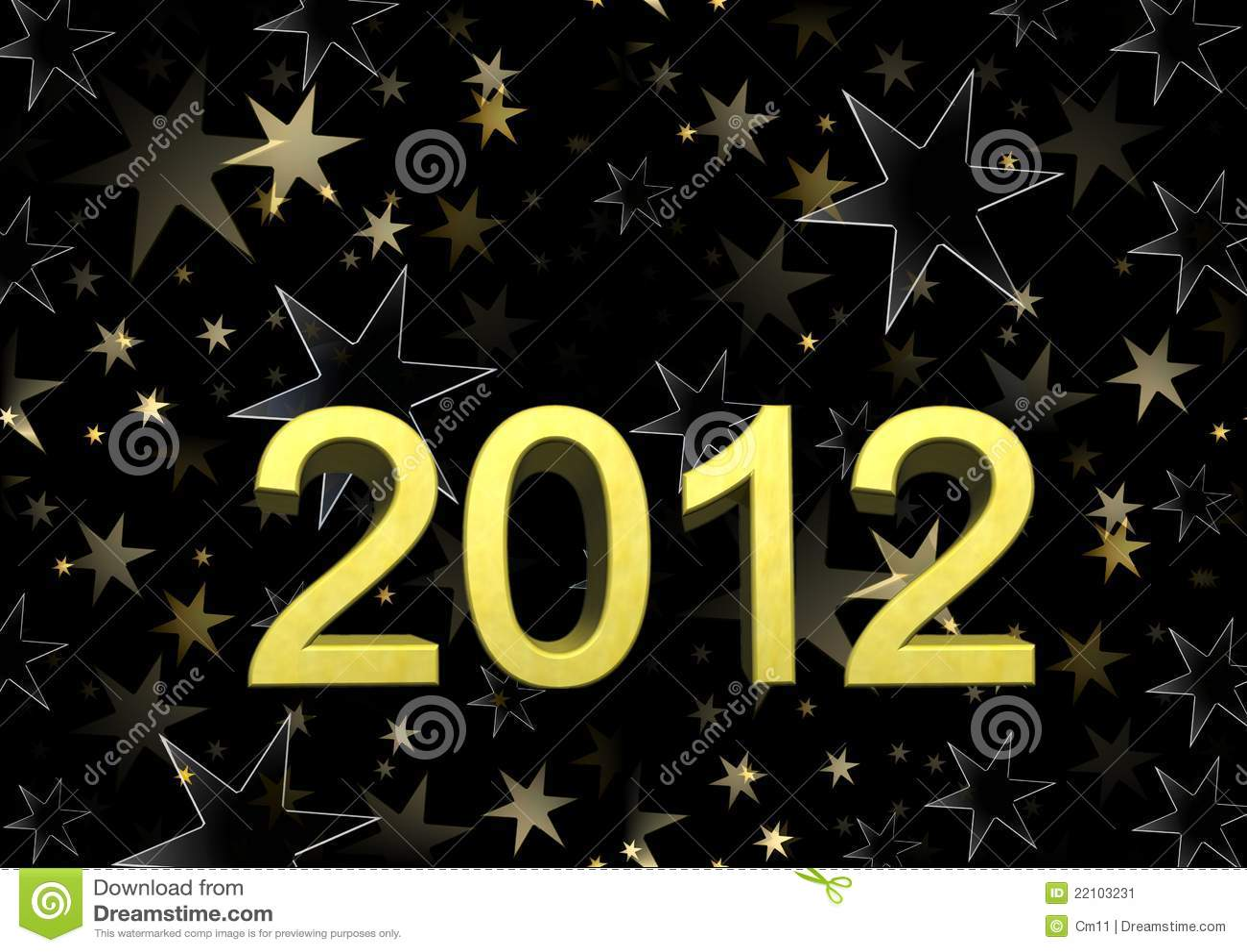 Nous te souhaitons un an neuf heureux 2012