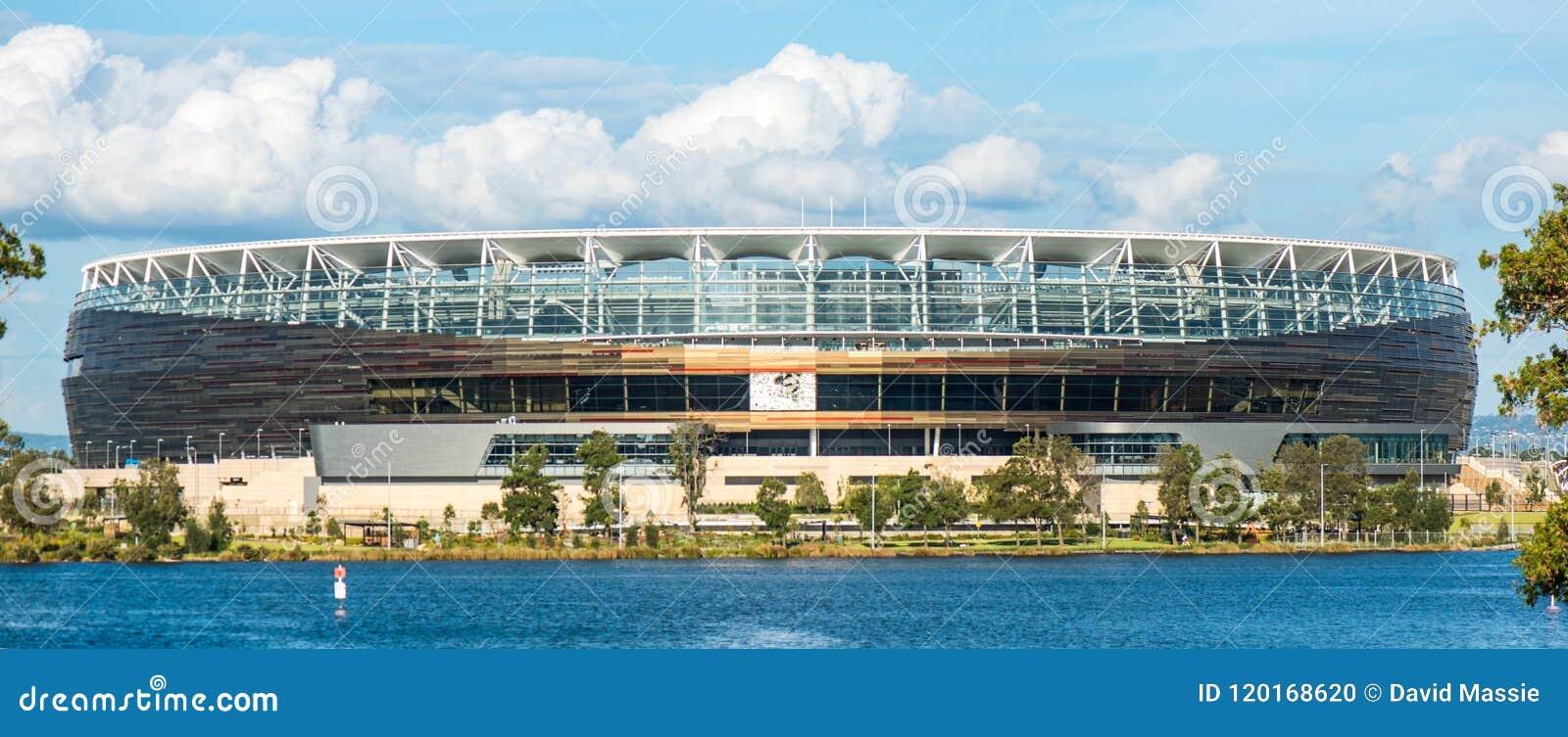 Nouveau stade de football dans l Australien occidental