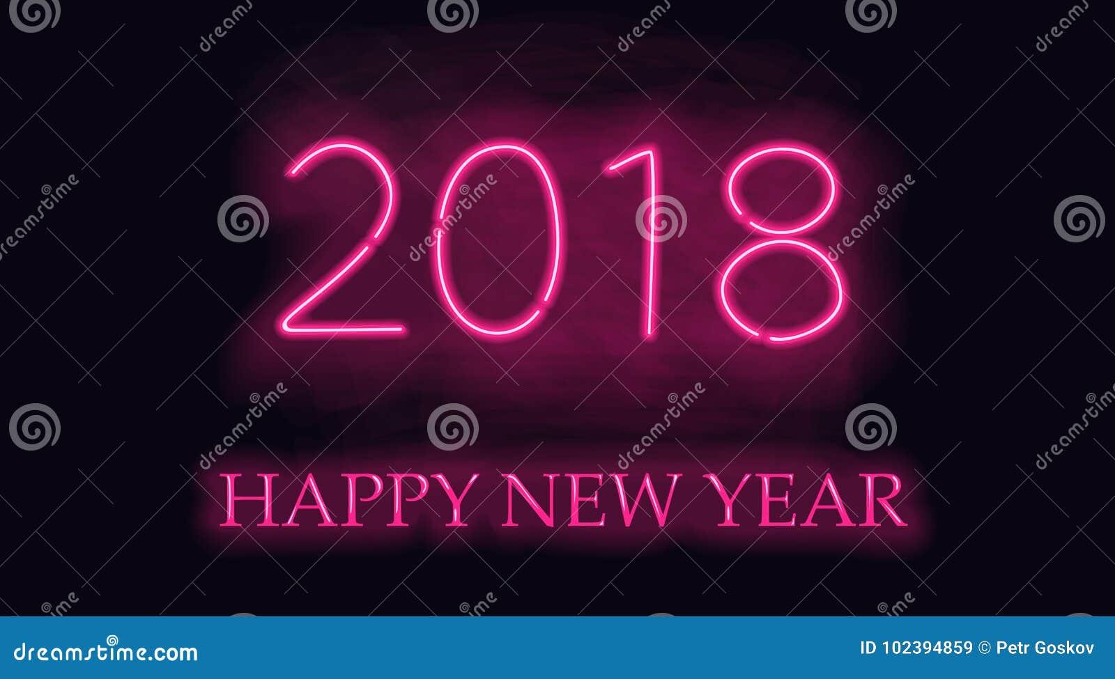 Nouvel 2018 ans heureux
