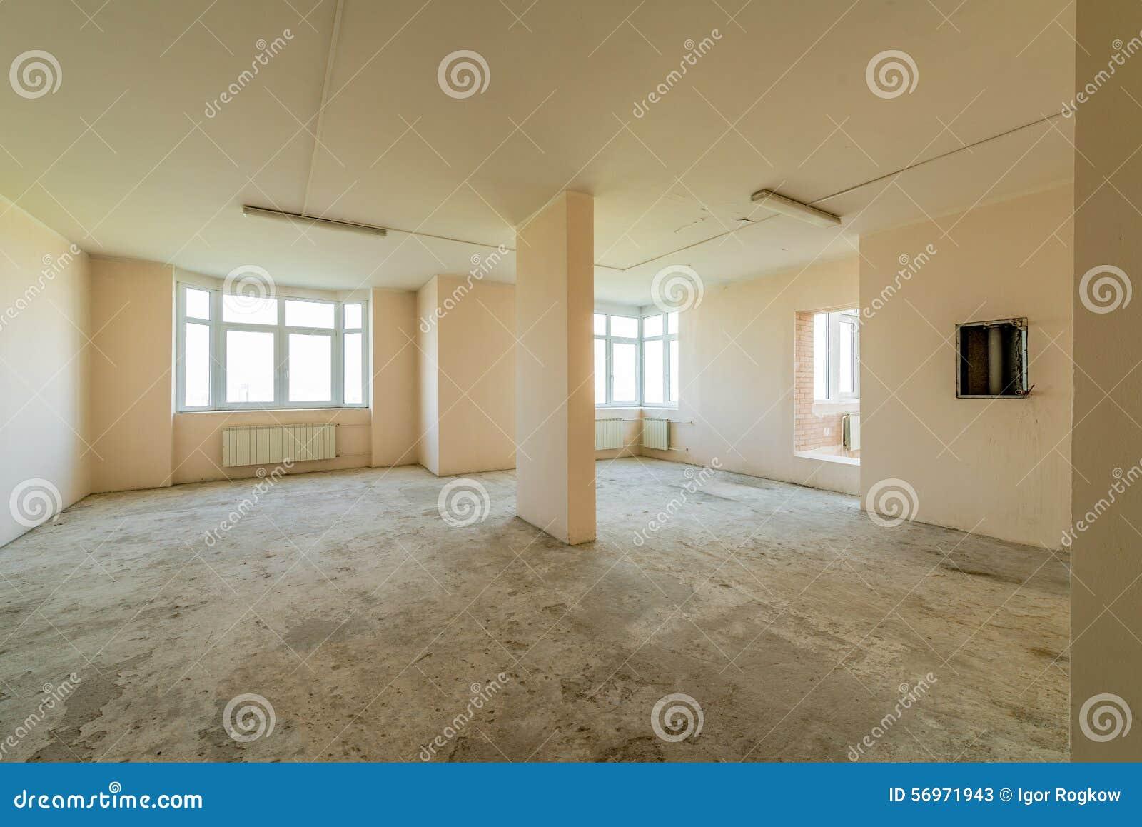 Nouvel appartement résidentiel sans finir dans la maison moderne ...