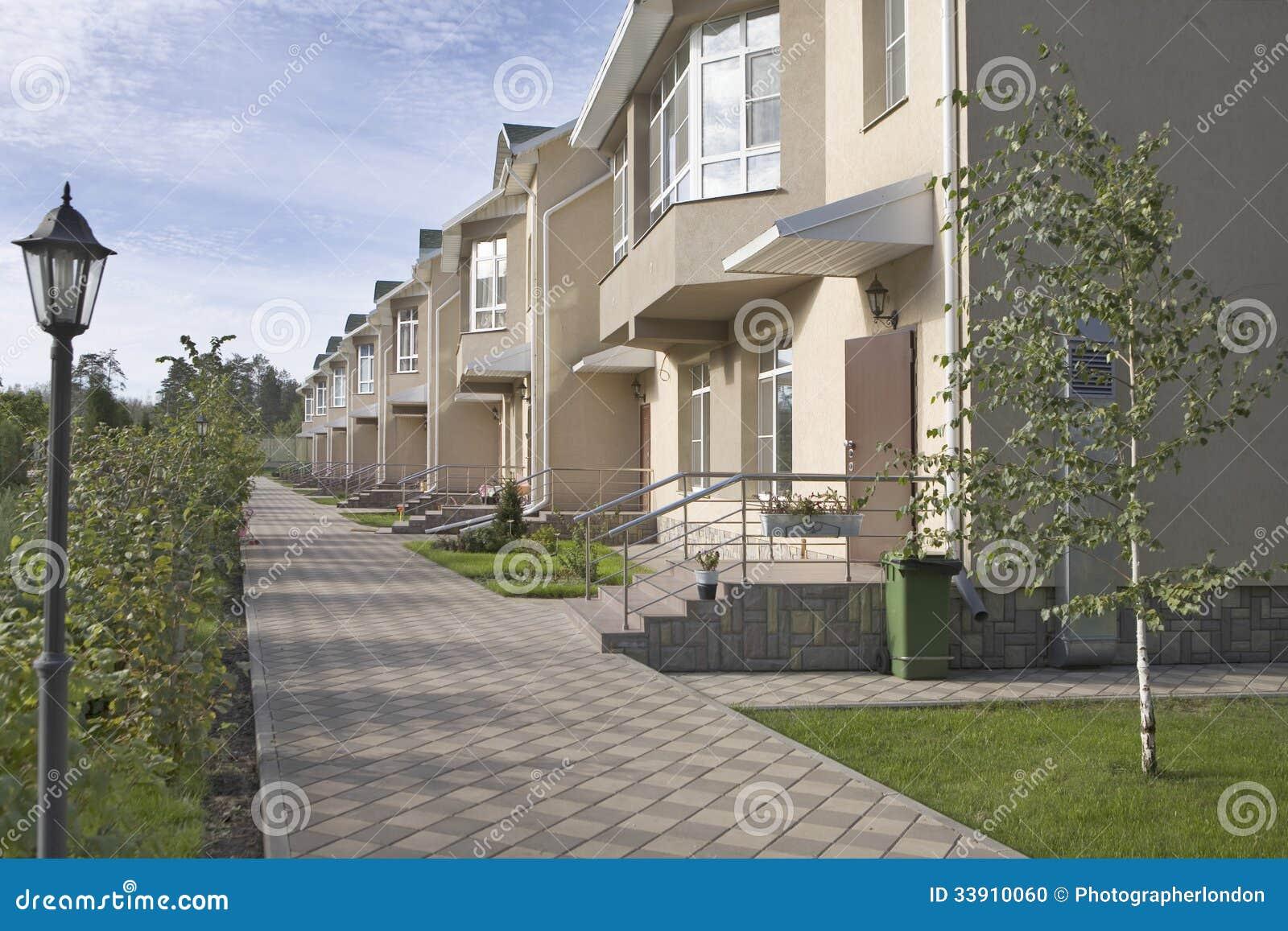 Nouvel ensemble immobilier privé