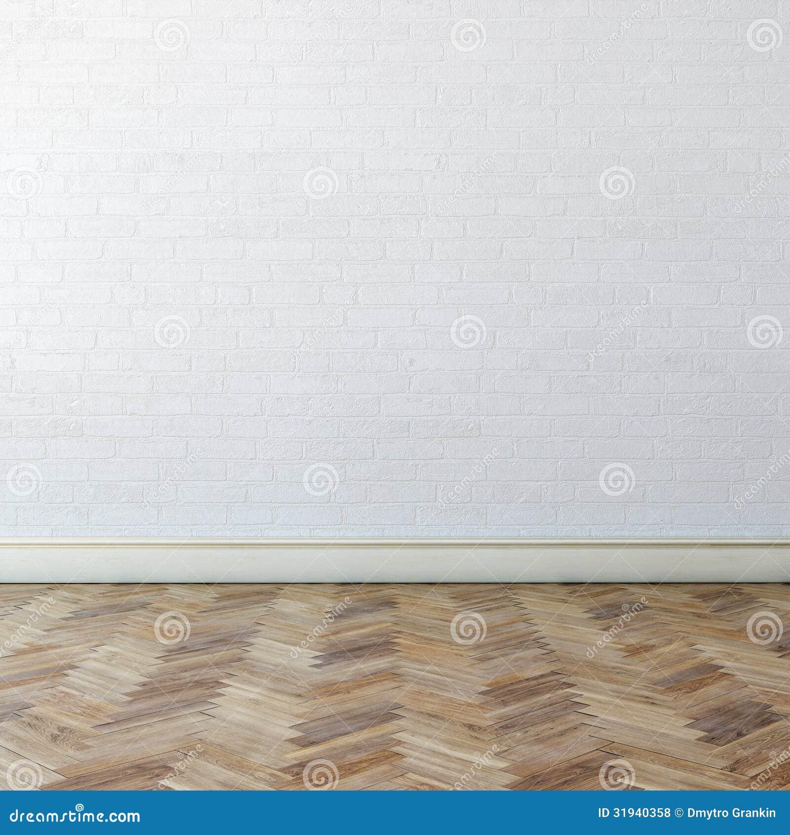 Nouvel int rieur avec le mur blanc et le parquet classique - Parquet classique ...