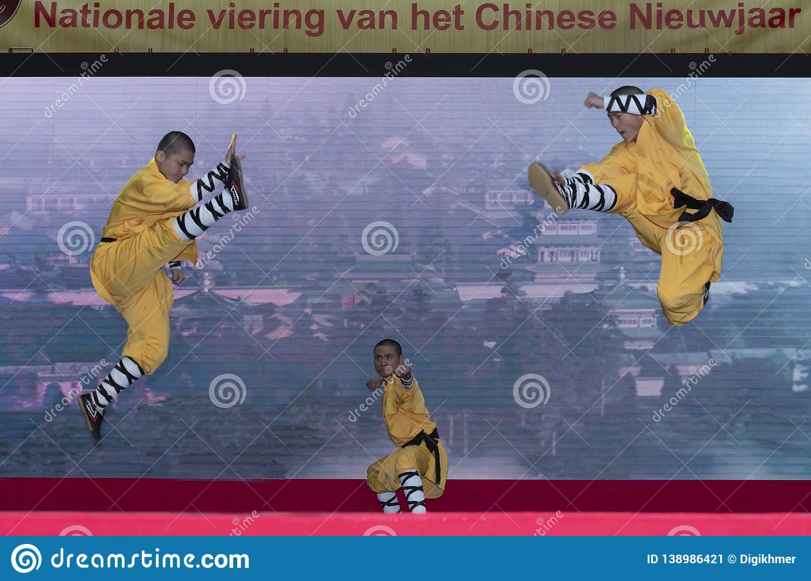 Nouvelle année chinoise 2019 - Shaolin Kung Fu