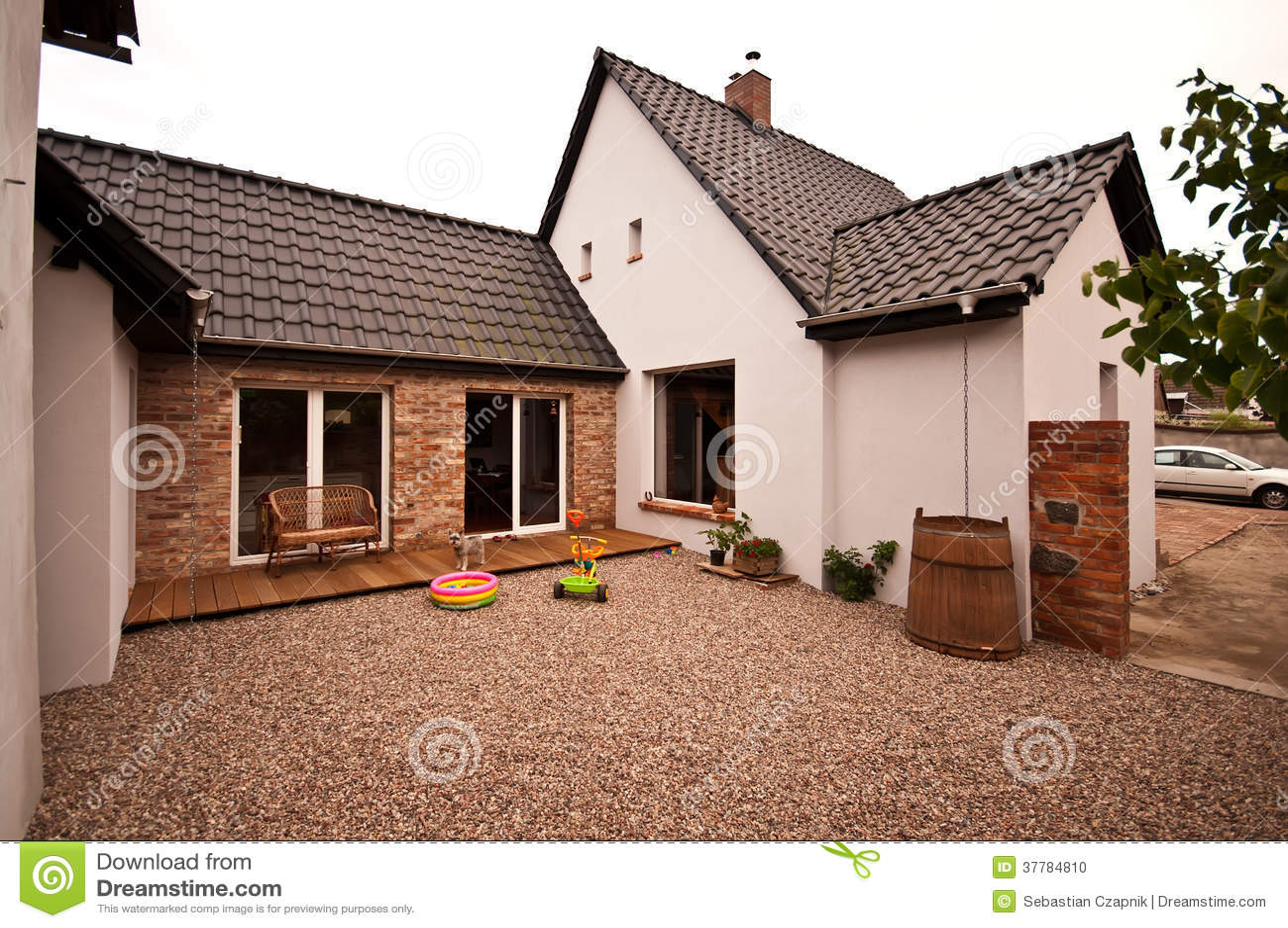 Nouvelle architecture de conception de vieille maison for Conception de maison 3d