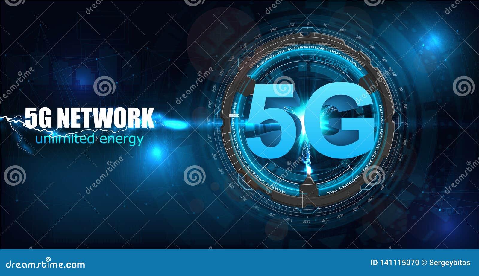 Nouvelle connexion sans fil de wifi de l Internet 5G