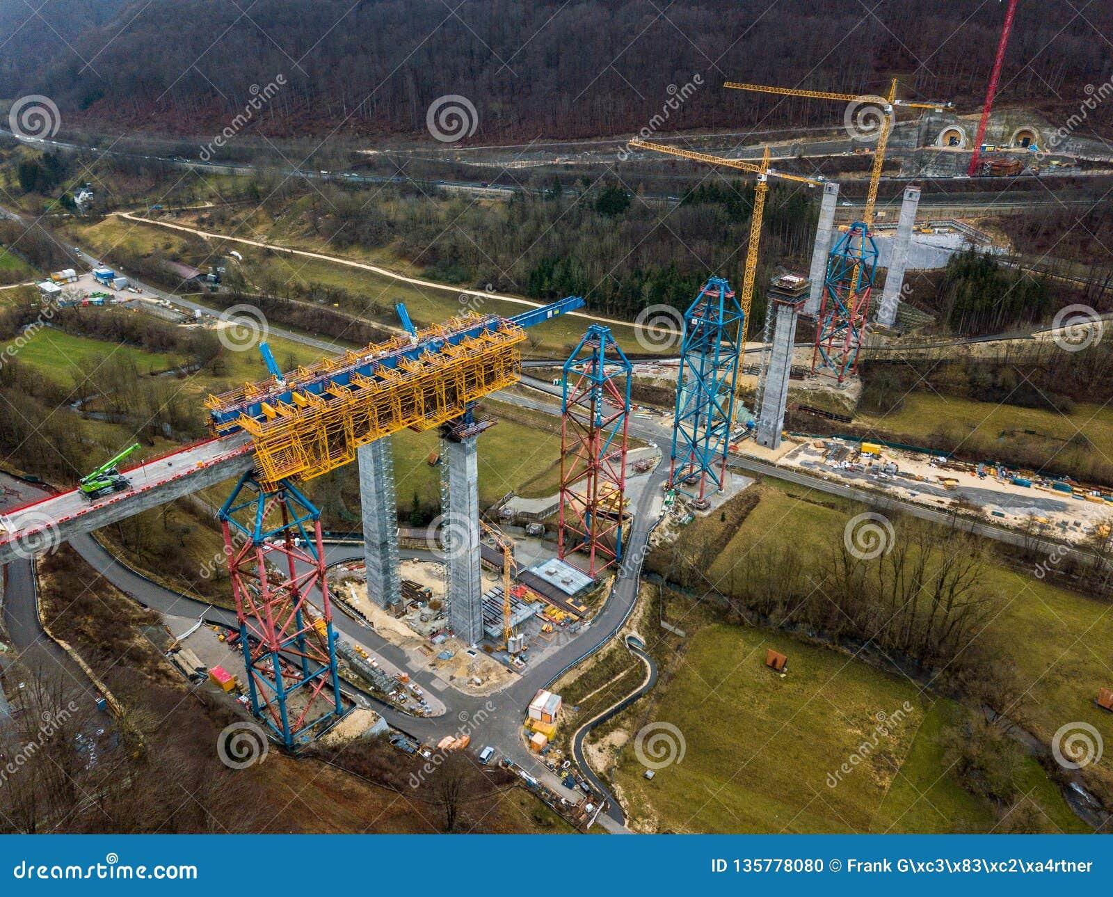 Nouvelle construction de pont de chemin de fer - Stuttgart 21, Aichelberg