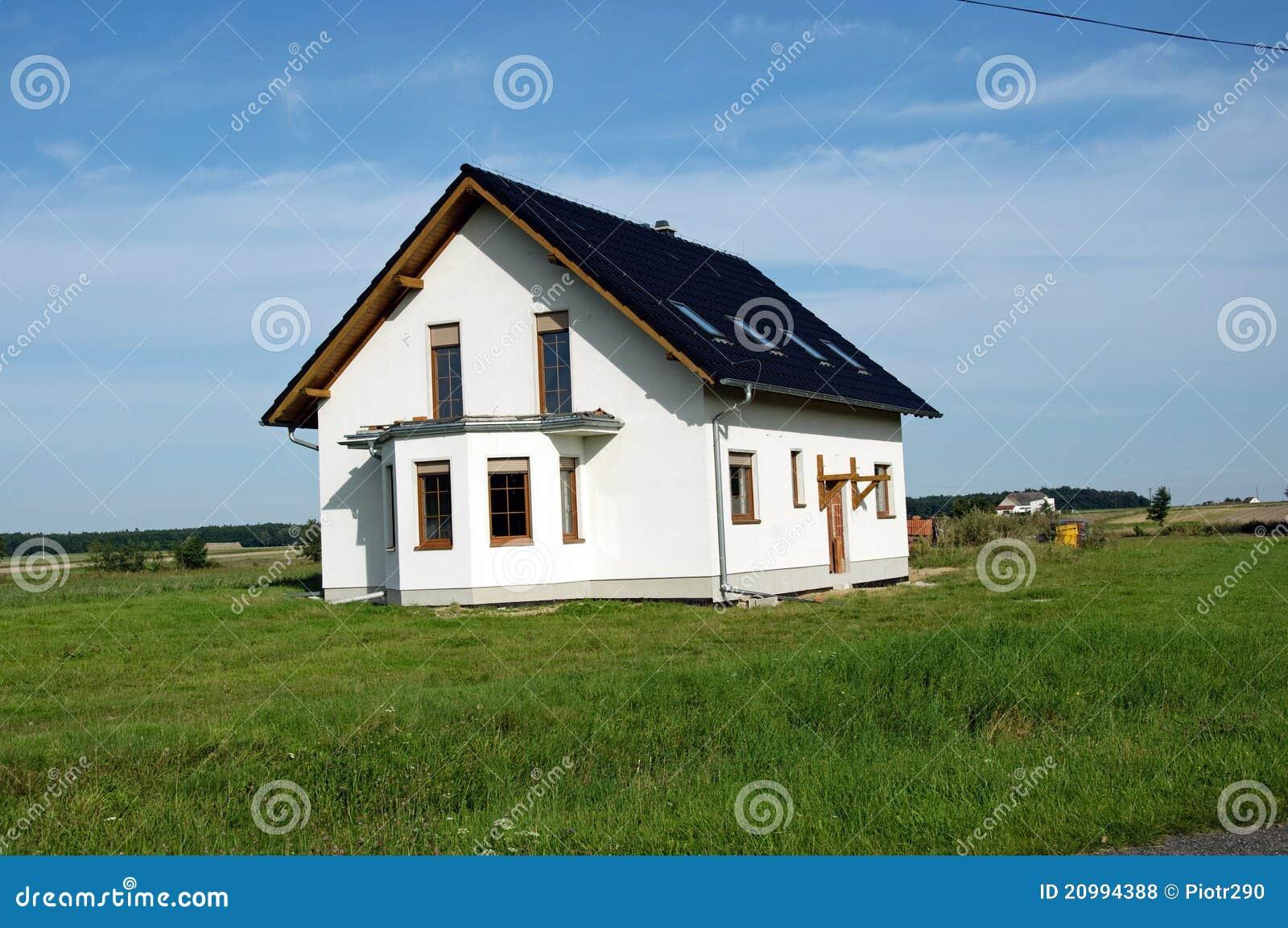 nouvelle maison photos libres de droits image 20994388. Black Bedroom Furniture Sets. Home Design Ideas