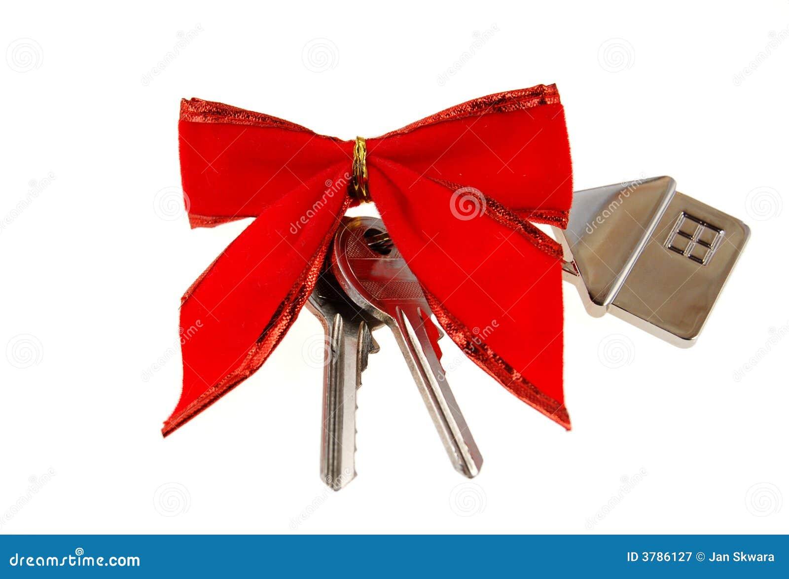 Nouvelle maison comme cadeau photographie stock libre de droits image 3786127 - Idee cadeau nouvelle maison ...