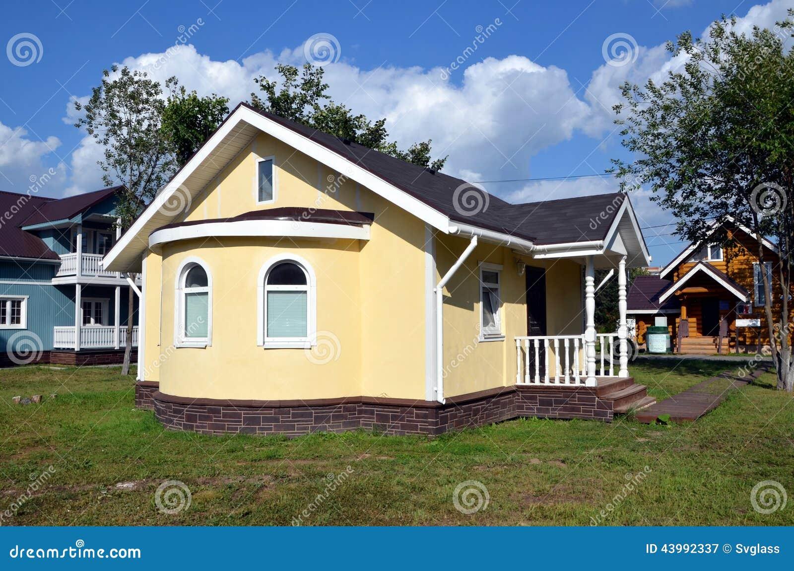 Nouvelle maison en pierre vendre photographie ditorial for Achat nouvelle maison