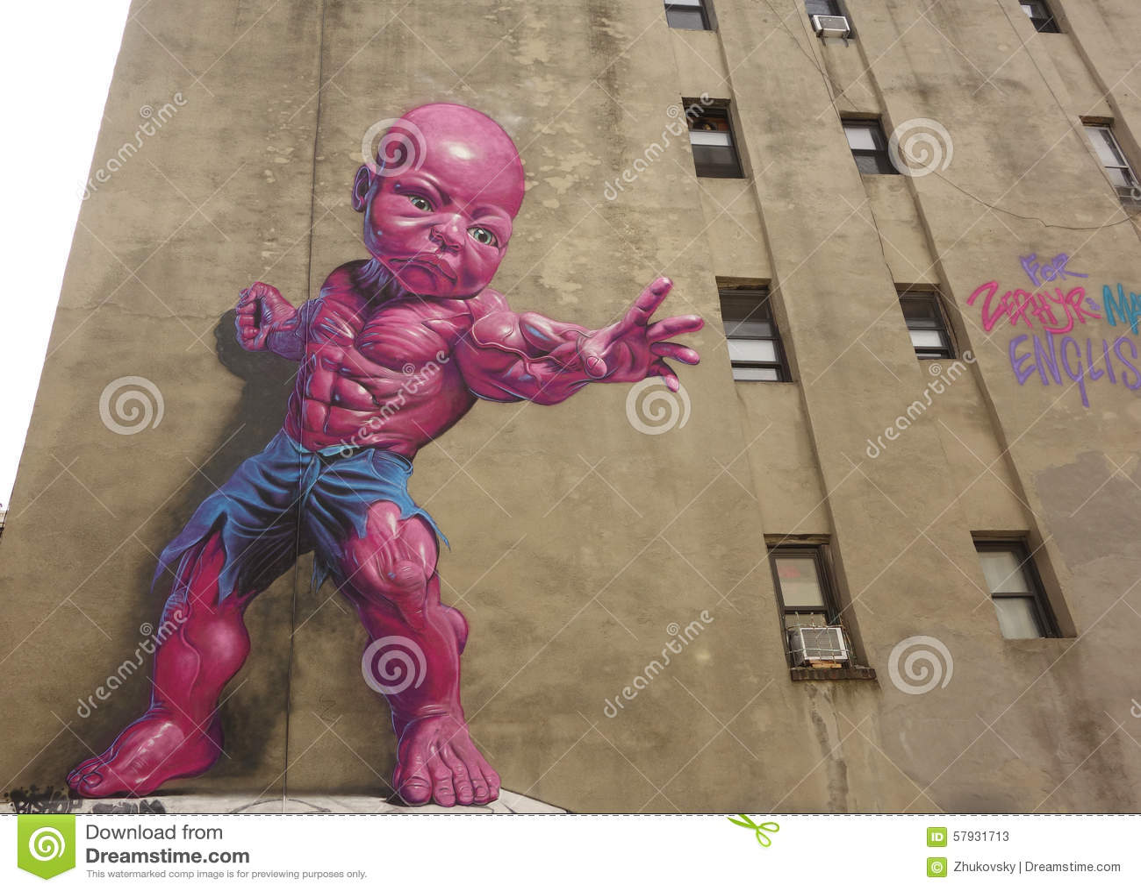Nouvelle Peinture Murale Rose Géante De Doigt D\'humeur Par Ron ...