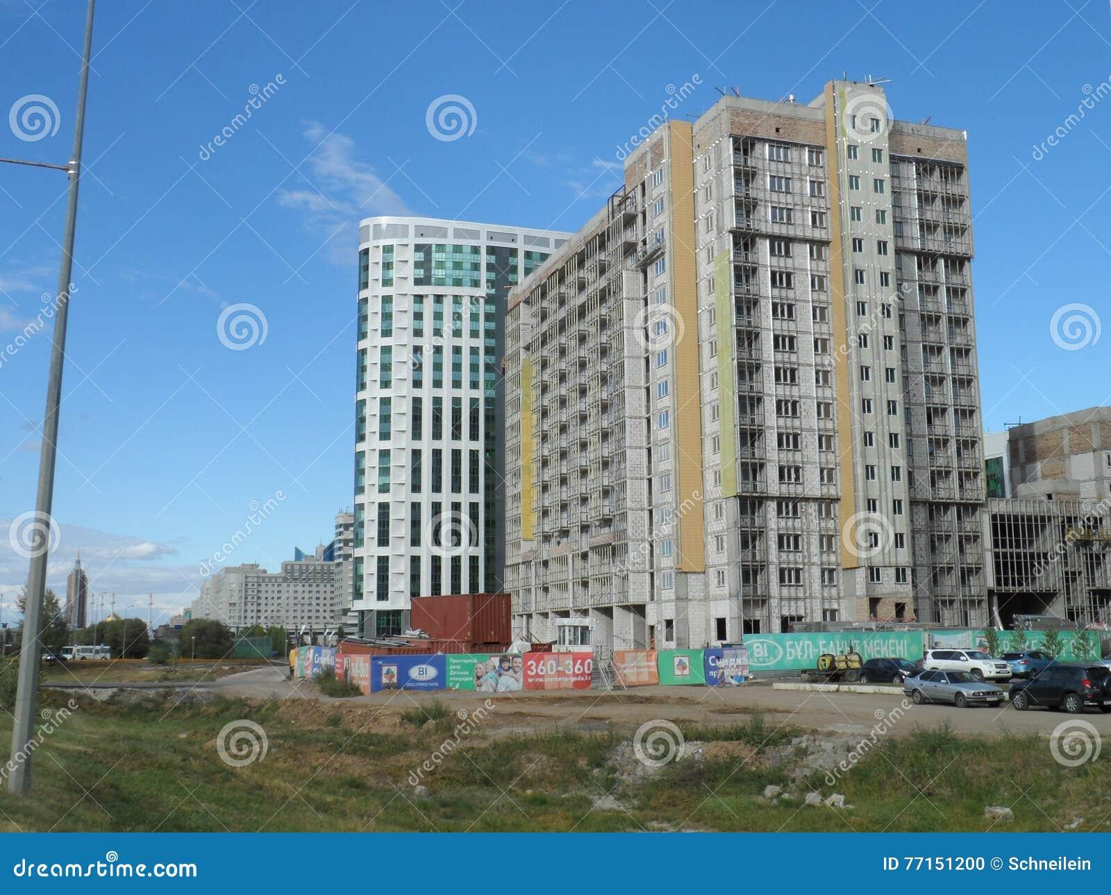 Nouvelle ville - constructions