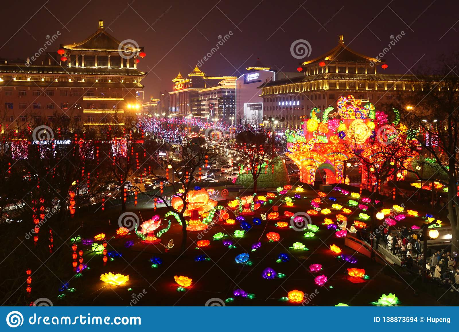 2019 nouvelles années chinoises dans Xian