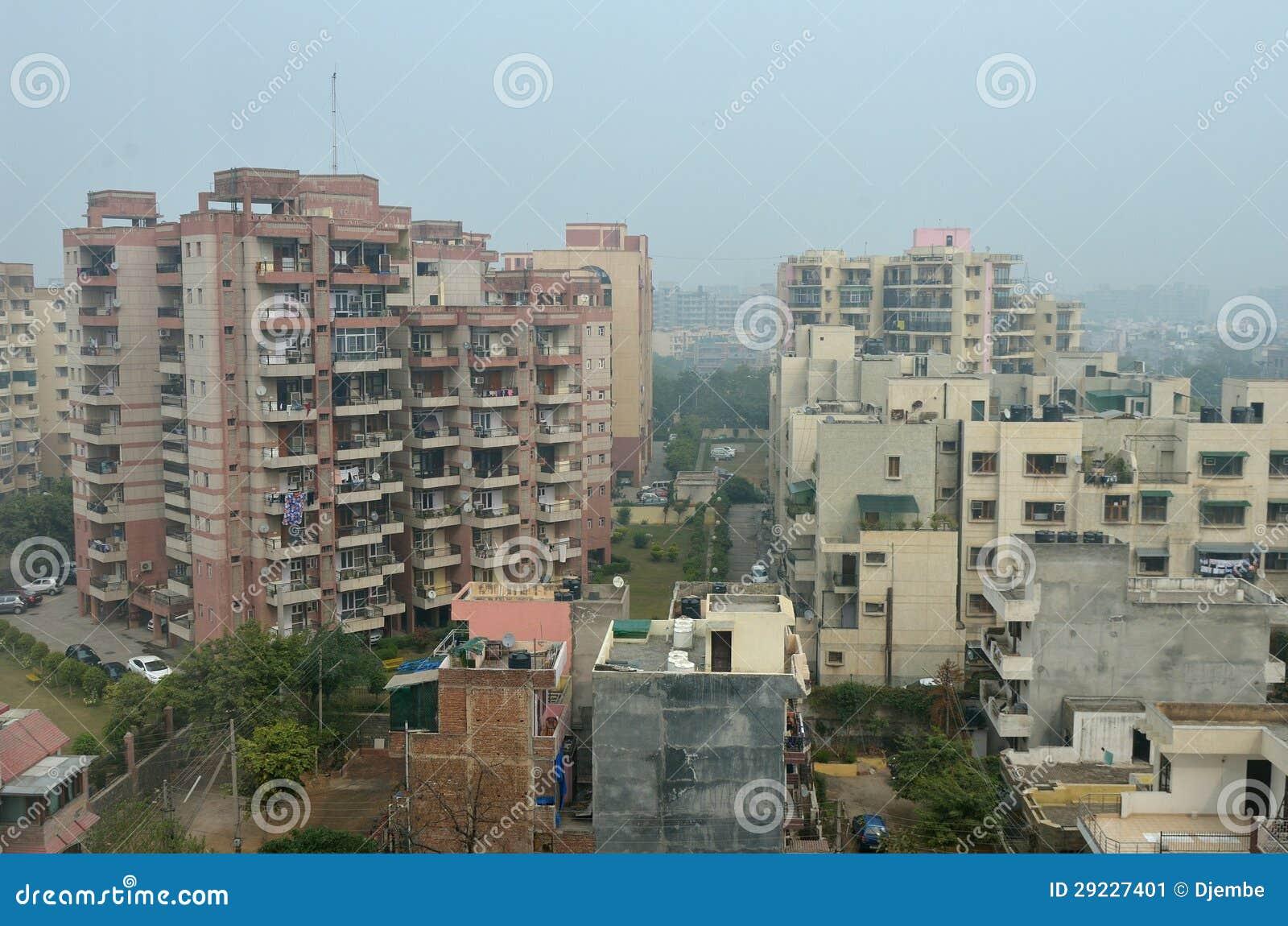 Download Nova Deli imagem de stock. Imagem de cidade, residências - 29227401