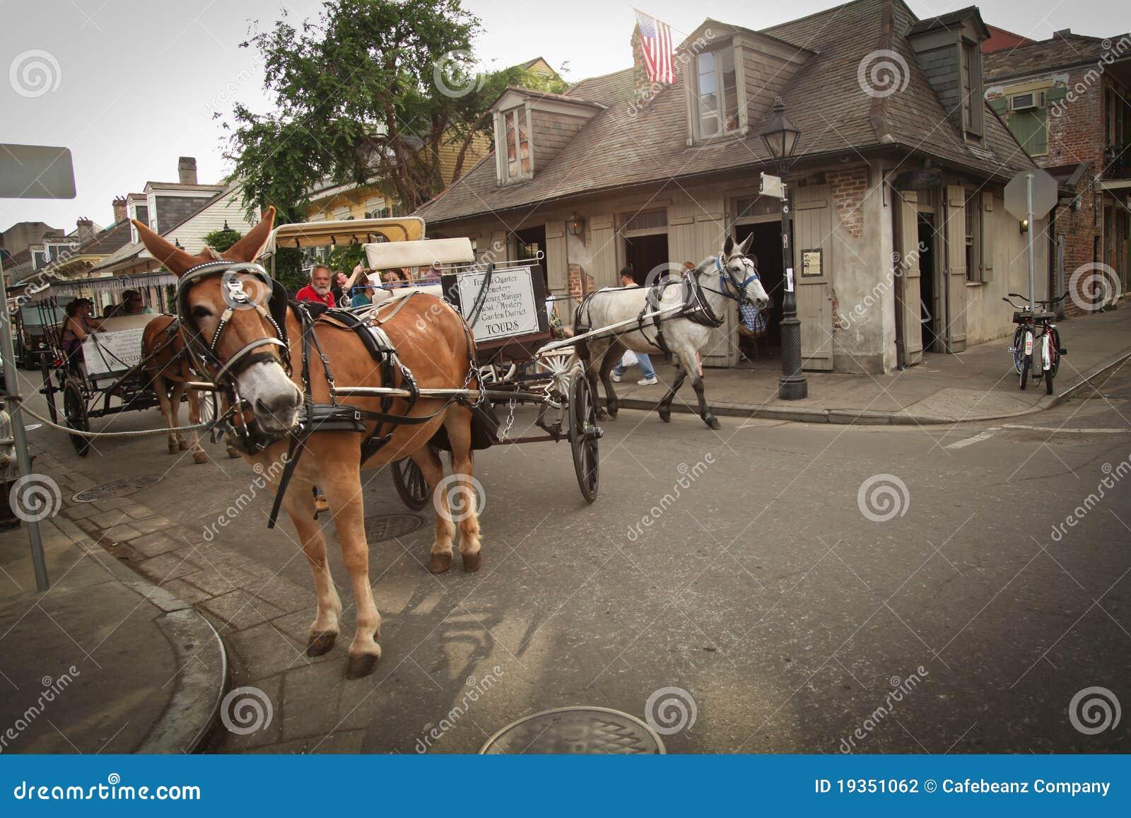 Nova Orleães - cena da rua