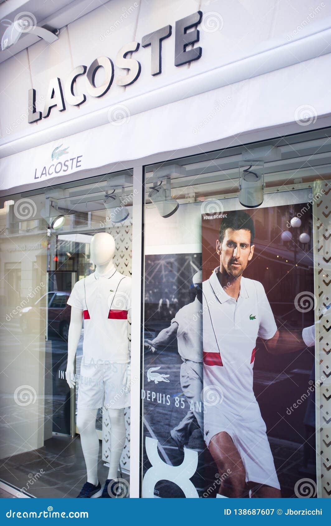 Novak Djokovic Lacoste Testimonial Editorial Photography Image Of France Editorial 138687607