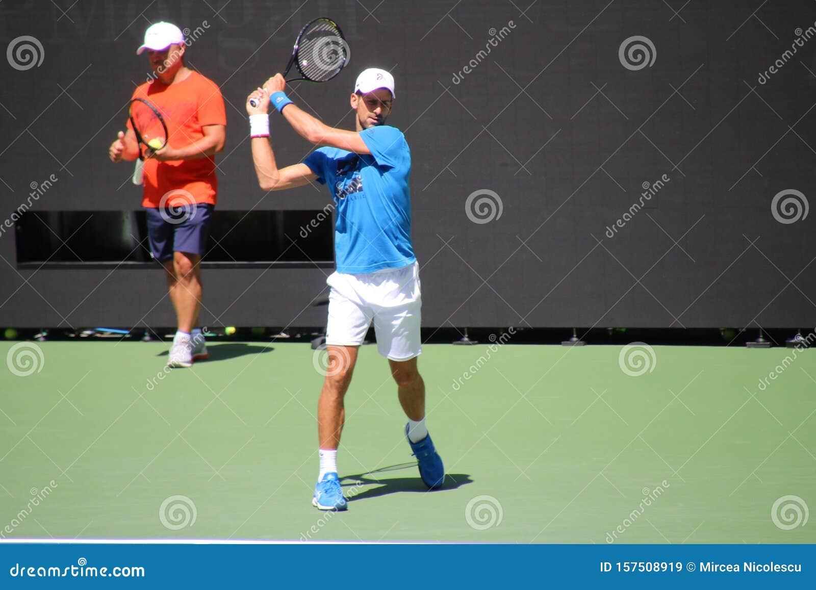 Novak Djokovic Editorial Stock Image Image Of Tennis 157508919