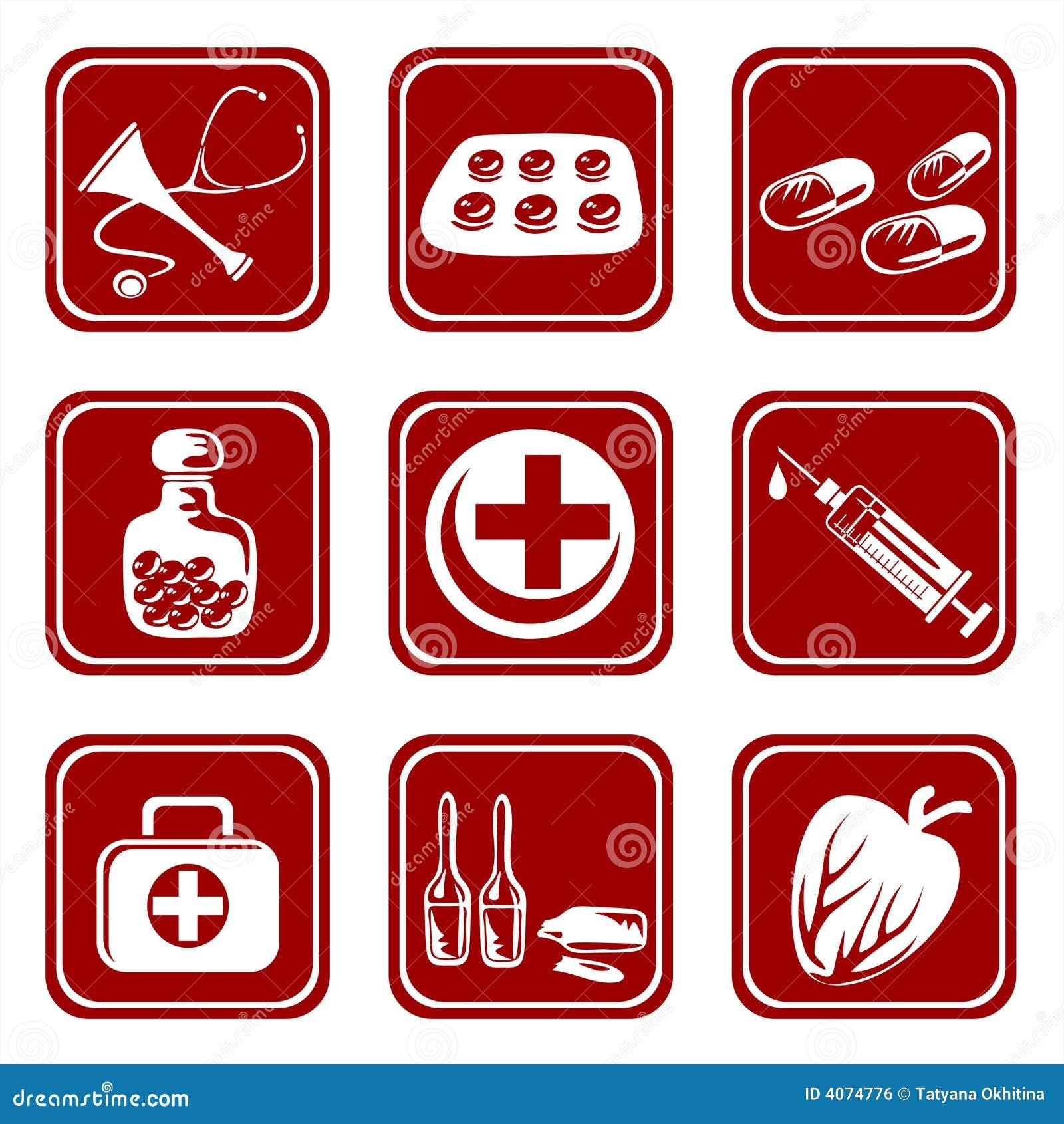 Nove símbolos médicos