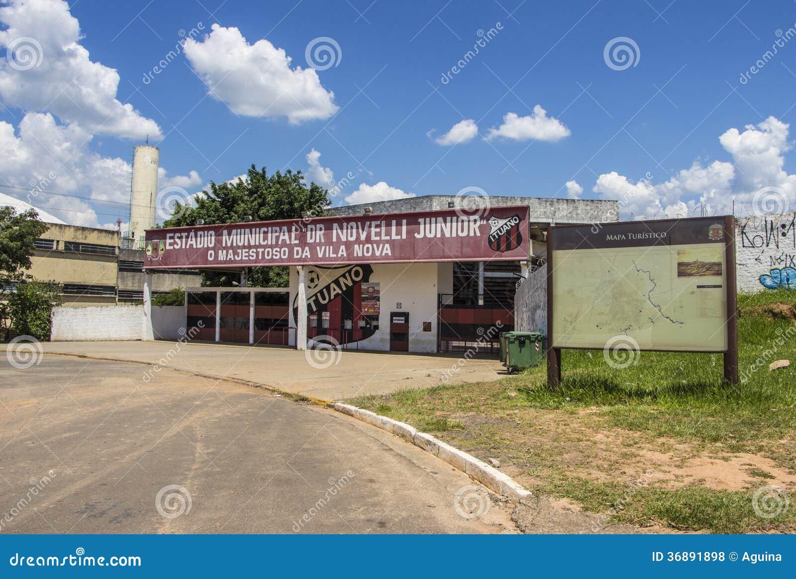 Download Novelli Junior Stadium - Itu - Sao Paulo - Il Brasile Fotografia Stock Editoriale - Immagine di brazil, campo: 36891898