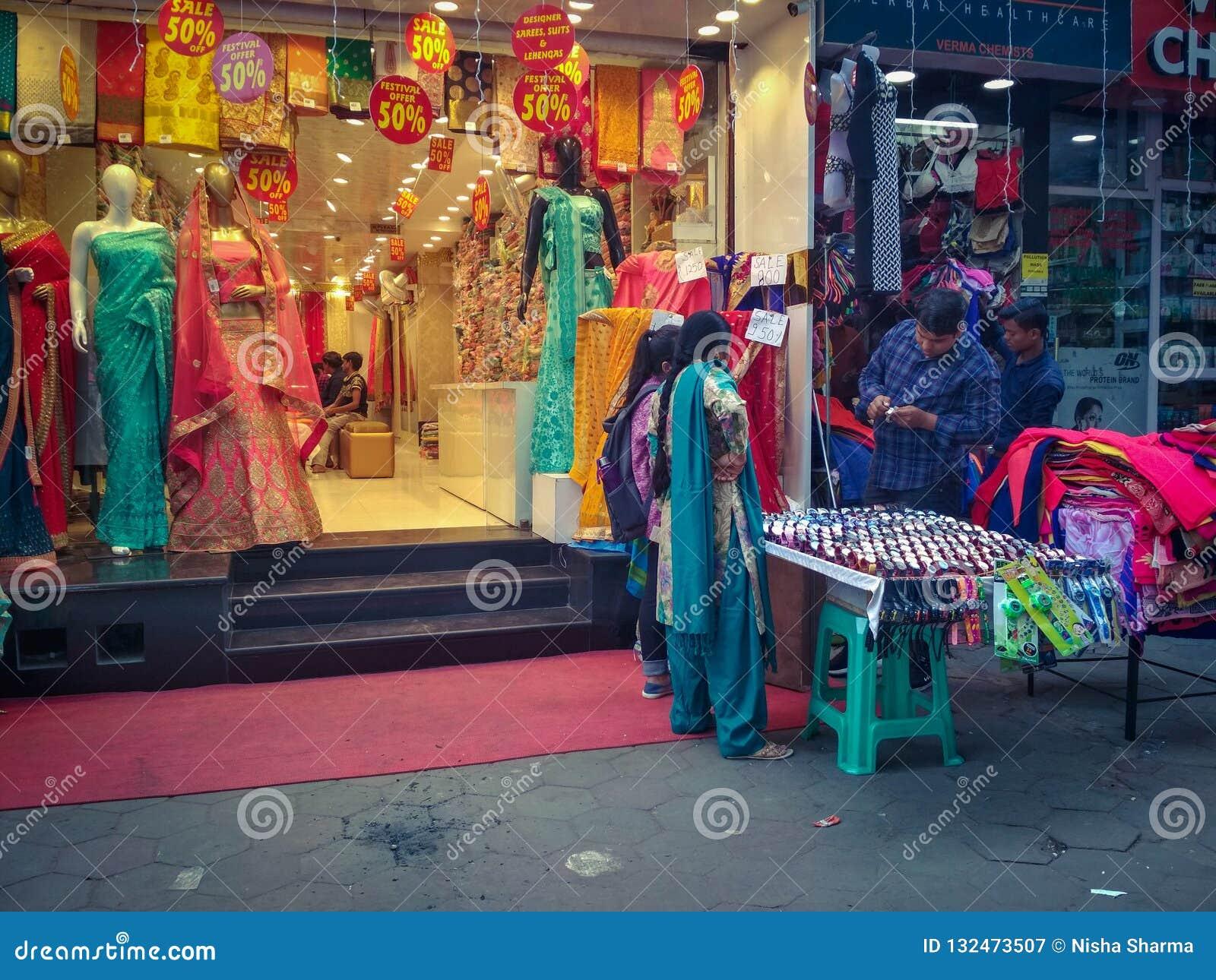 Sarojini Nagar market editorial photography  Image of