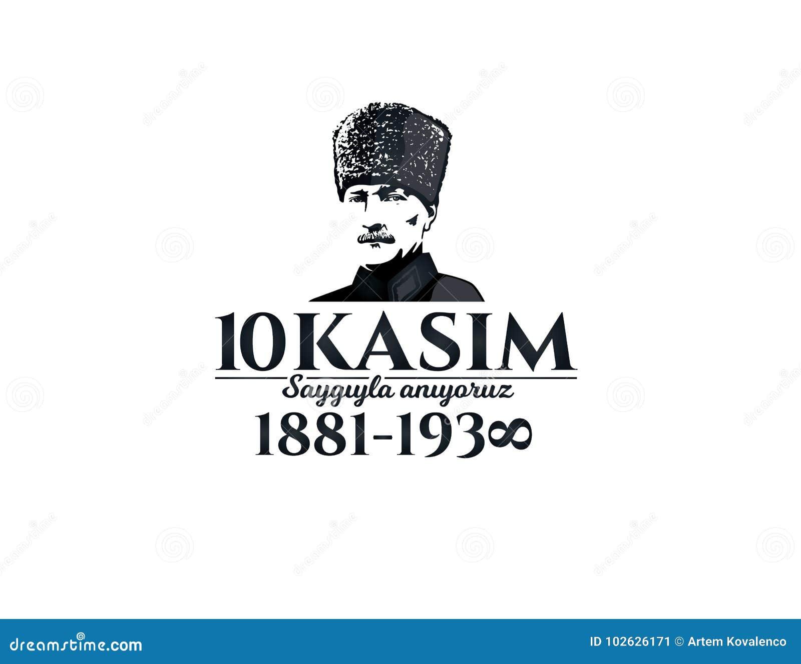 10 november dood dag Mustafa Kemal Ataturk