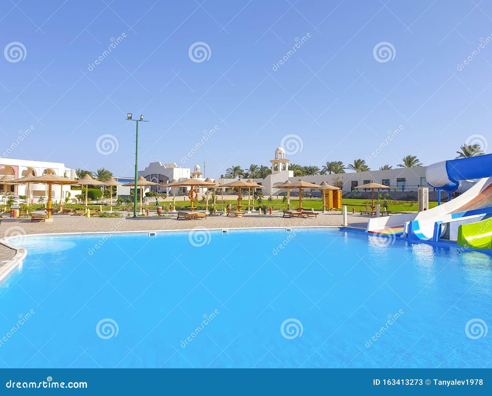 November 1 2019 Egypt Hurghada Water Slides At The Hotel Long Beach Resort Editorial Stock Photo Image Of Destinations November 163413273