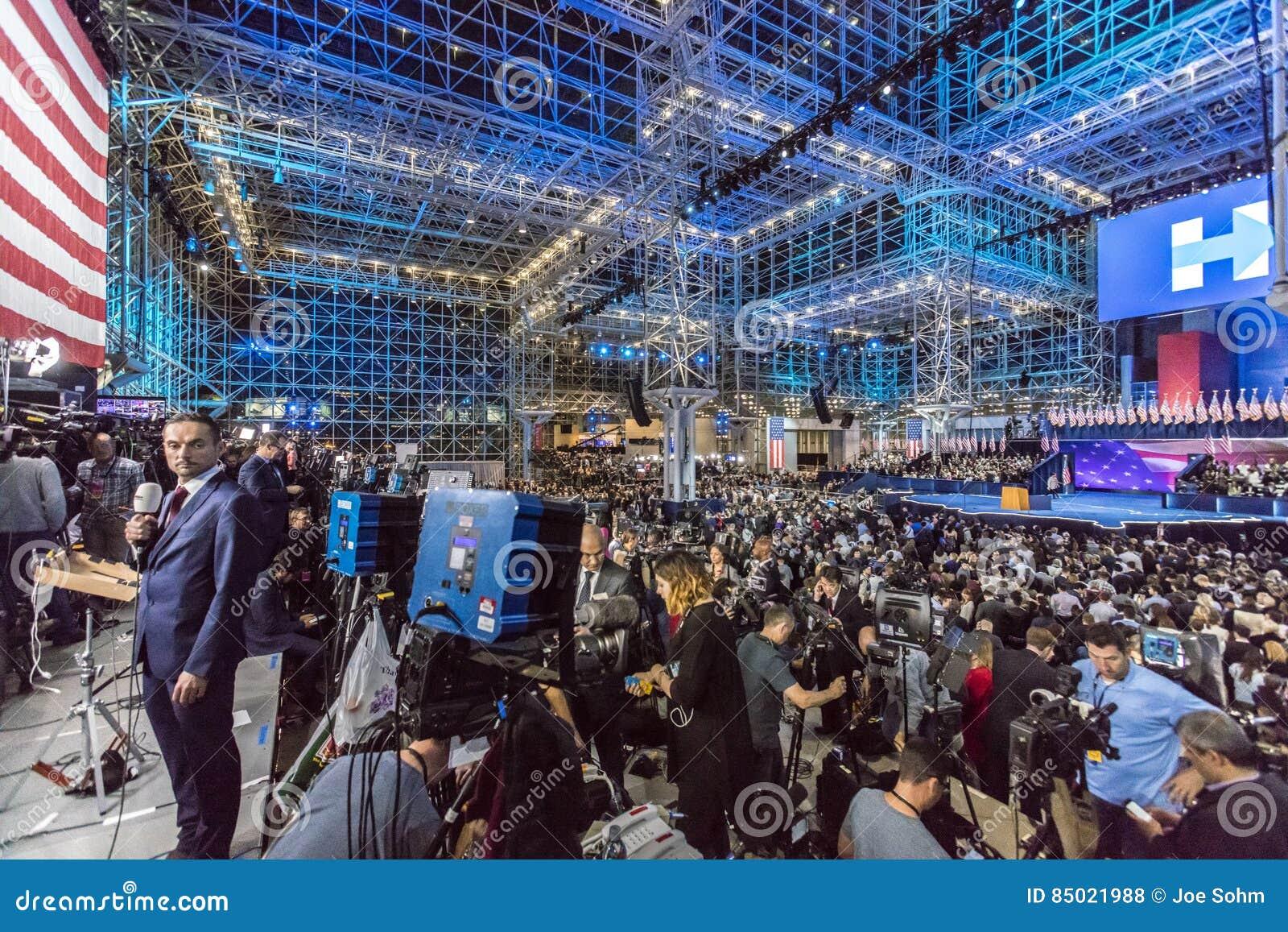 NOVEMBER 8, 2016, Election Night At Jacob K. Javits Center - Venue ...