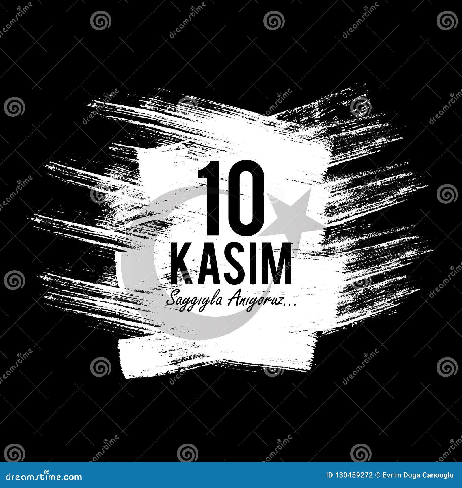 November 10, grundaren av Republiken Turkiet M K Årsdag för död för Ataturk ` s Engelska: November 10, 1881-1938 Turk Fla