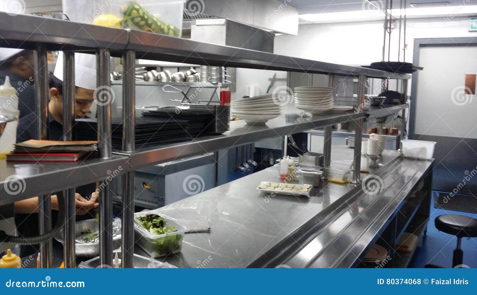 11 November 2016 Kuala Lumpur Die Moderne Hotel Küchen Ausrüstung