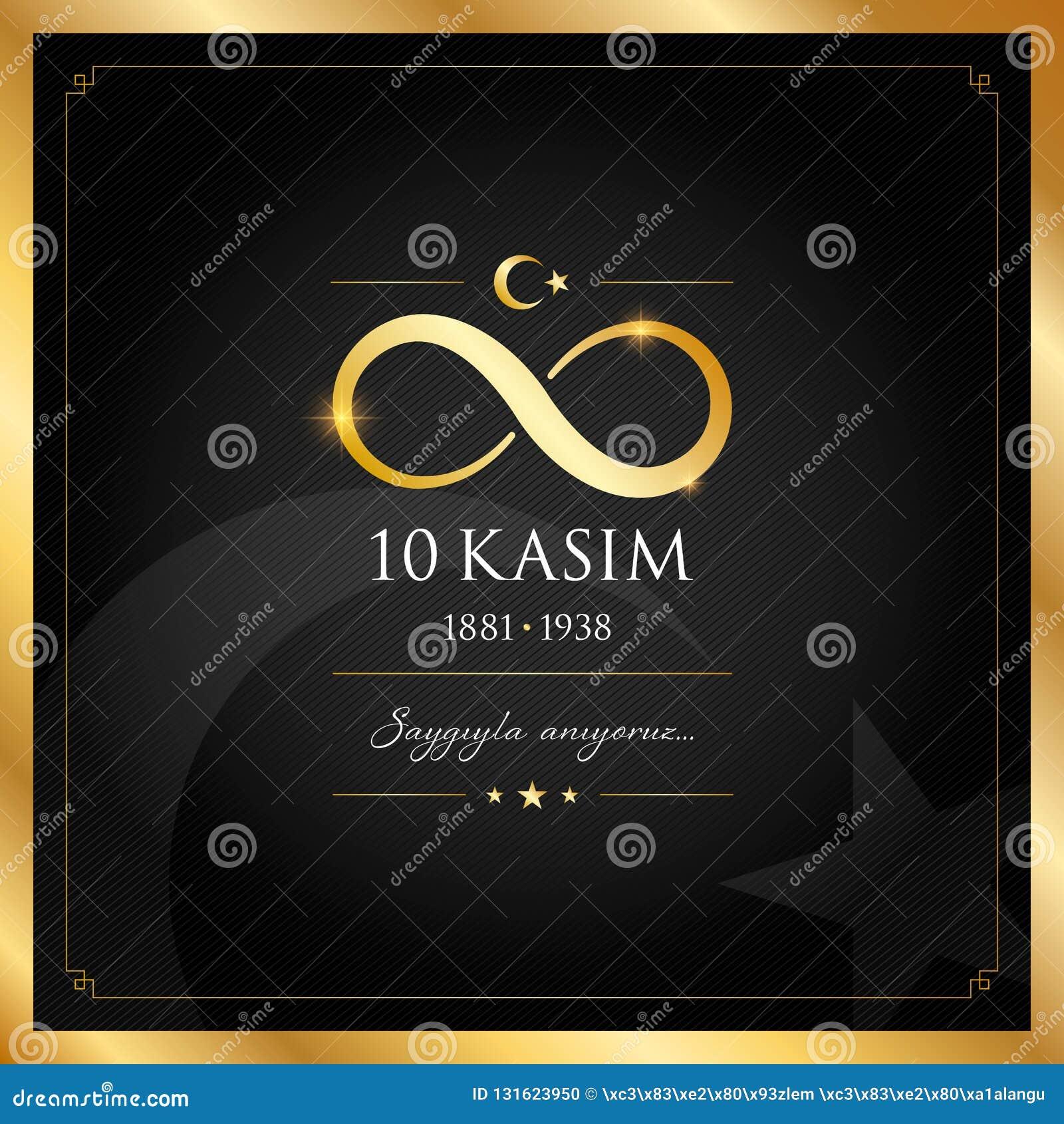 10 November, Mustafa Kemal Ataturk Death Day årsdag