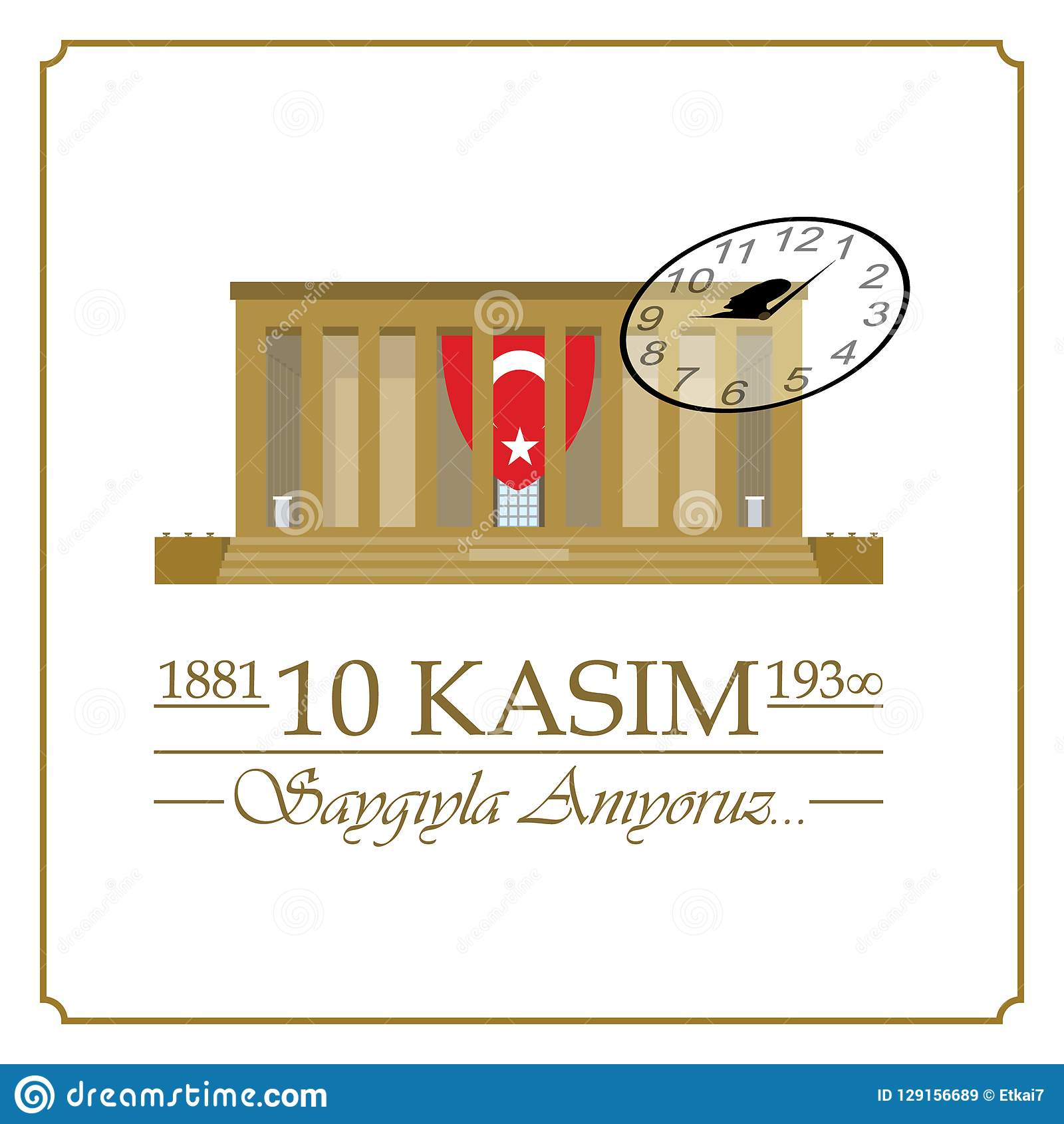 10 November, Mustafa Kemal Ataturk Death Day-verjaardag
