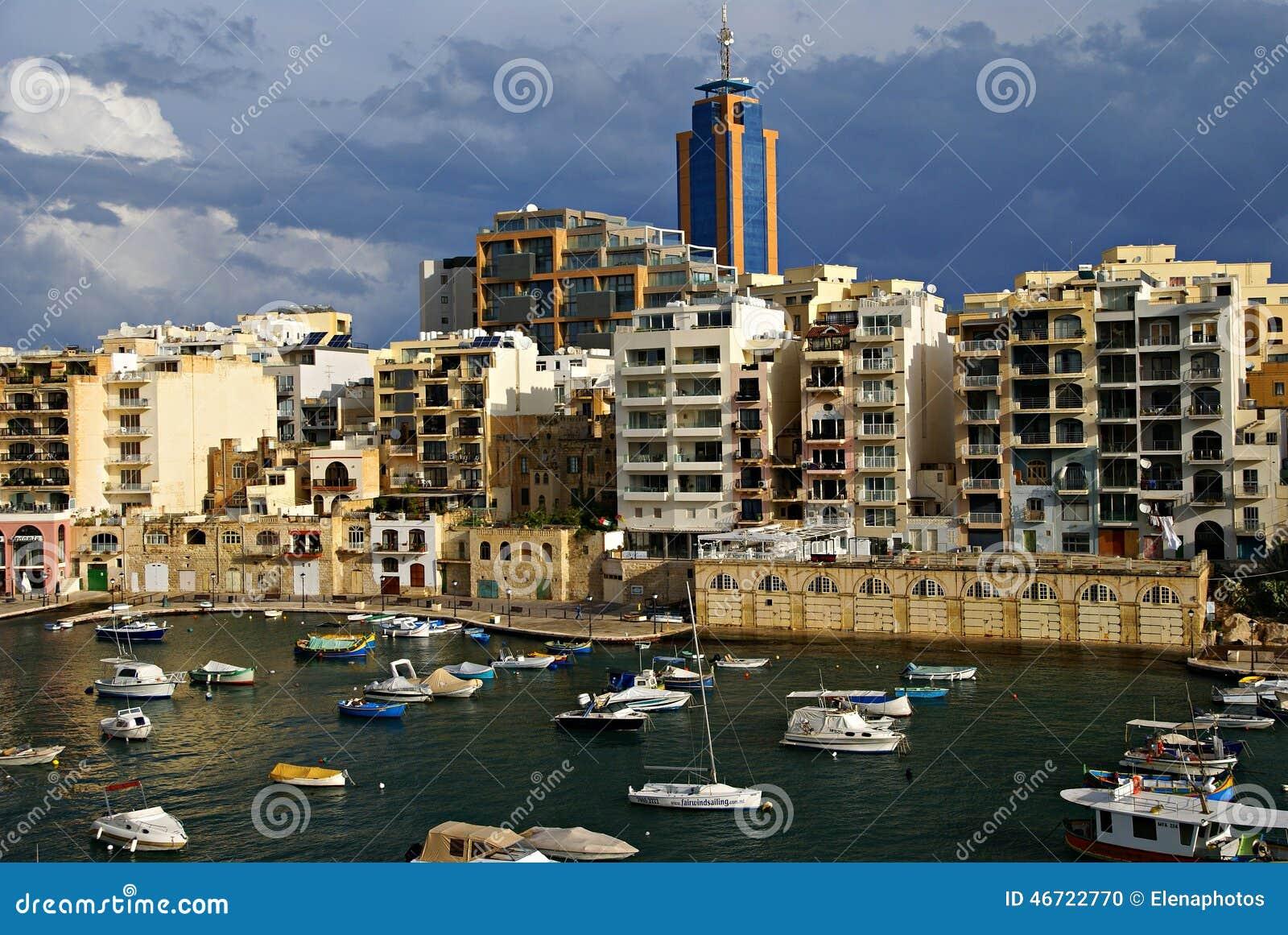 7 novembre - giorno del ciclone Mediterraneo a Malta