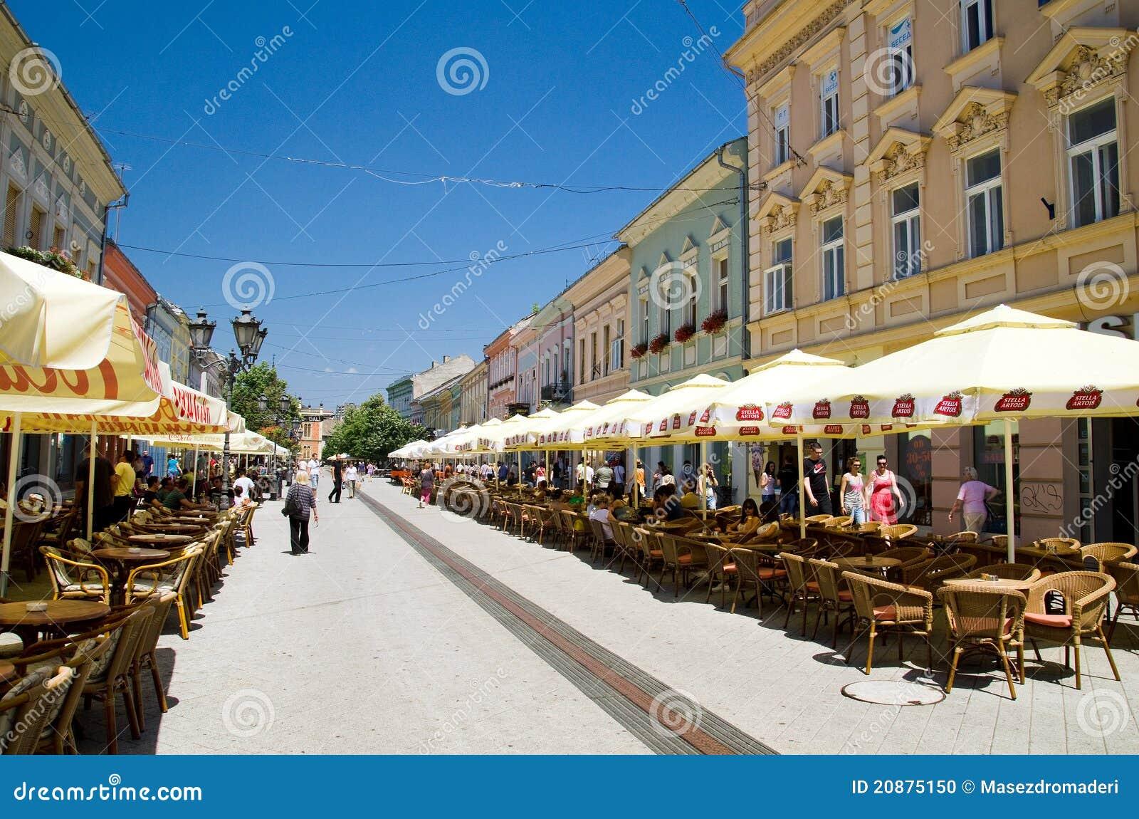 Novi Sad cafe