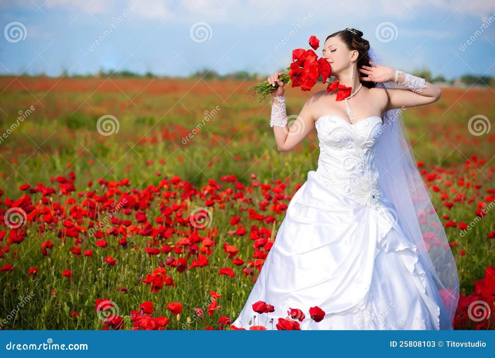En la hermosa novia personal