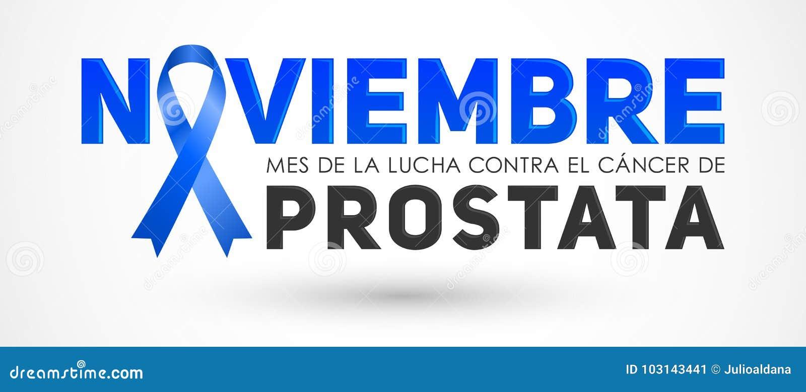 Noviembre Mes De La Lucha Gegen El Krebs De Prostata November Monat