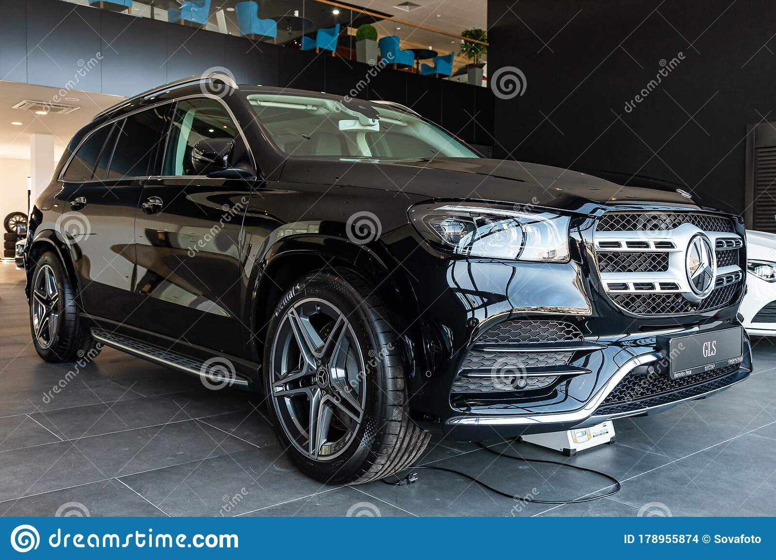 Novosibirsk Russia April 06 2020 Mercedes Benz Gls Class 450 Editorial Stock Image Image Of Motion Editorial 178955874