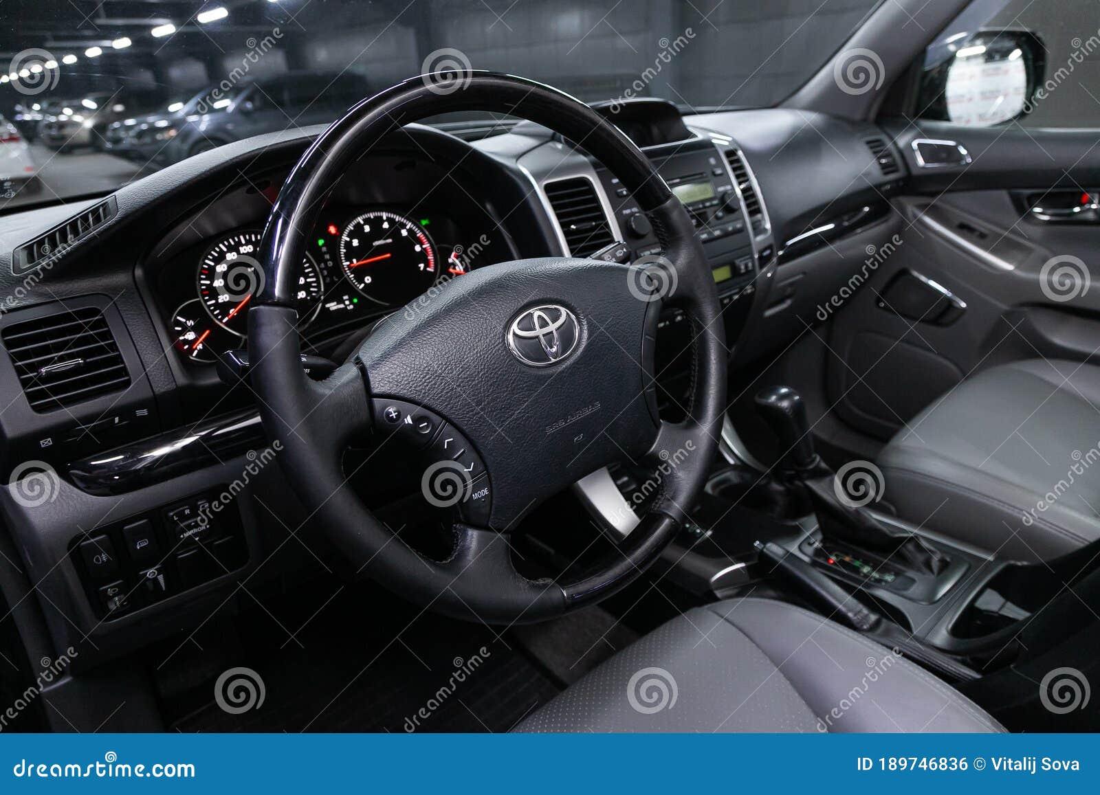 Novosibirsk Russia April 22 2020 Toyota Land Cruiser Prado Editorial Photo Image Of Performance Glass 189746836