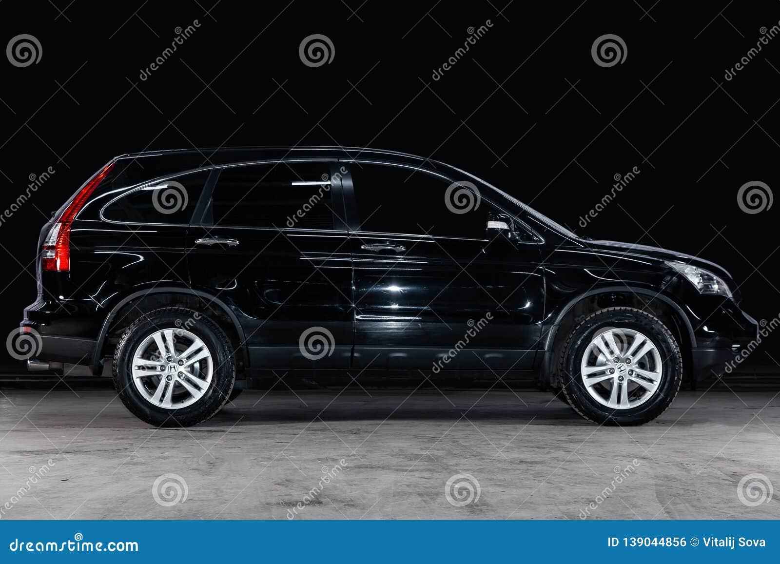 Novosibirsk, Russia - February 08, 2019: Honda CR-V