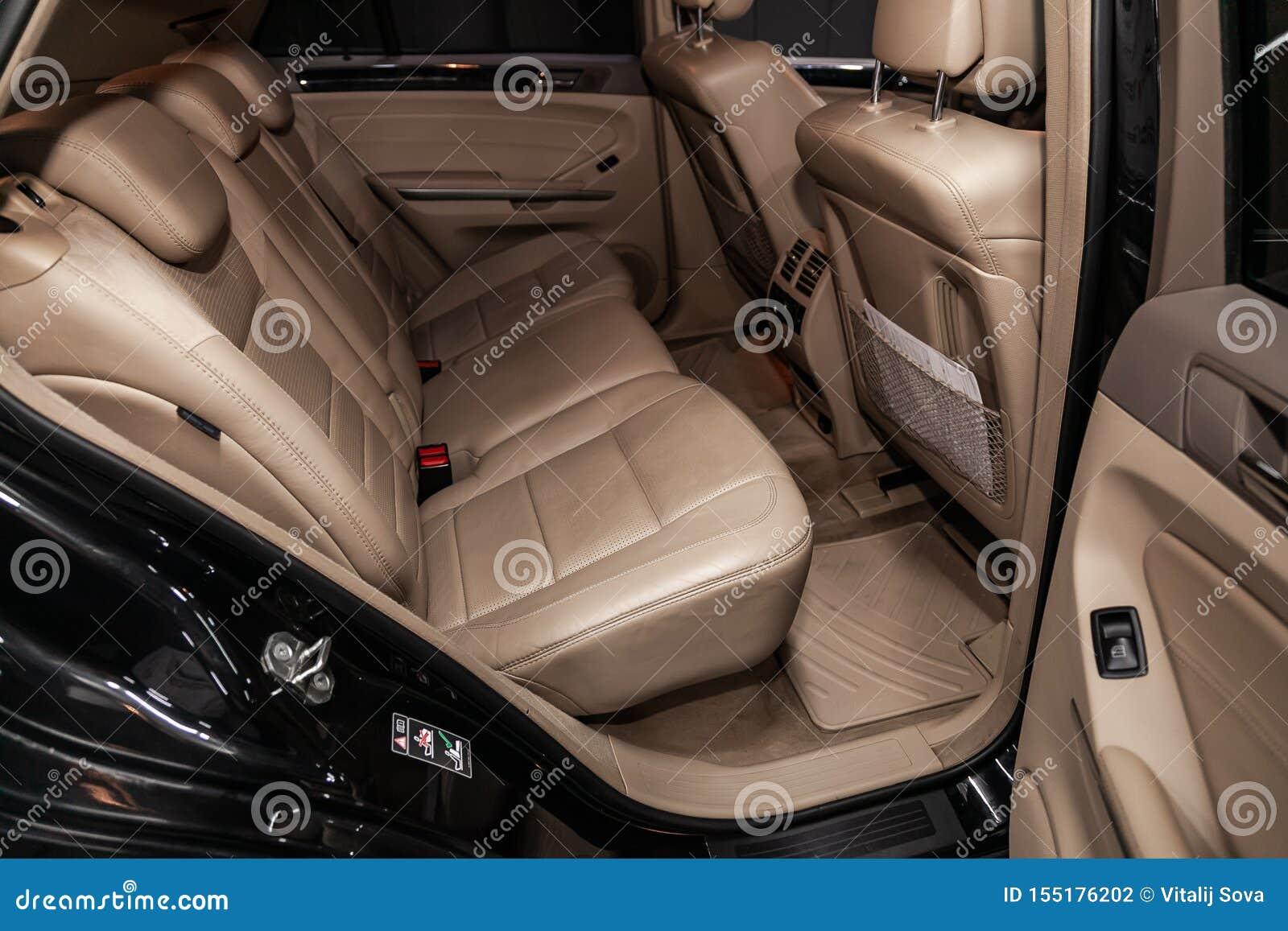 Novosibirsk, Russia July 12, 2019: Mercedes-Benz M-class ...