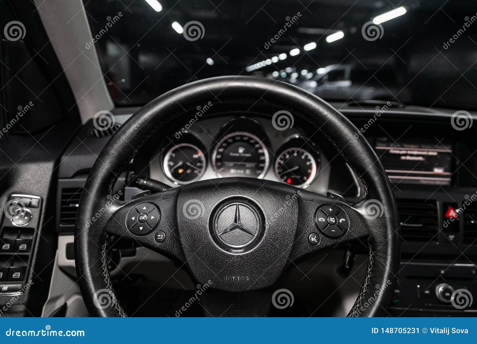 Novosibirsk, Russia - May 23, 2019: Mercedes-Benz GLK ...