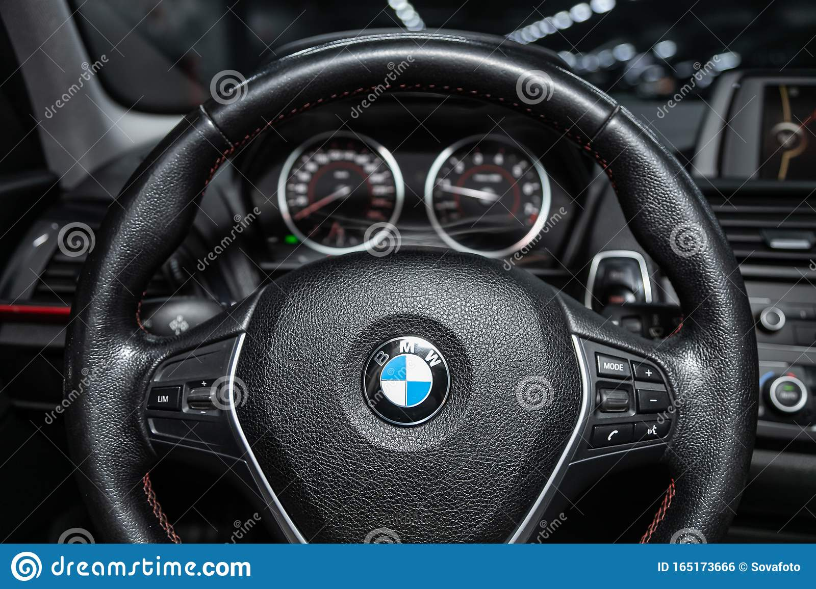 Novosibirsk Russia October 10 2019 Bmw 1 Series 118i Editorial Photo Image Of Computer Detailing 165173666