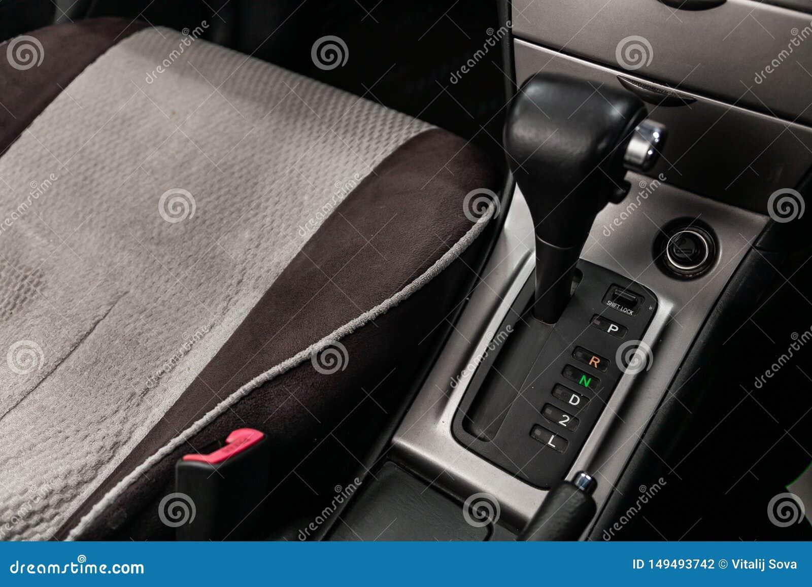 Novosibirsk Ryssland - Maj 31, 2019: Toyota Corolla