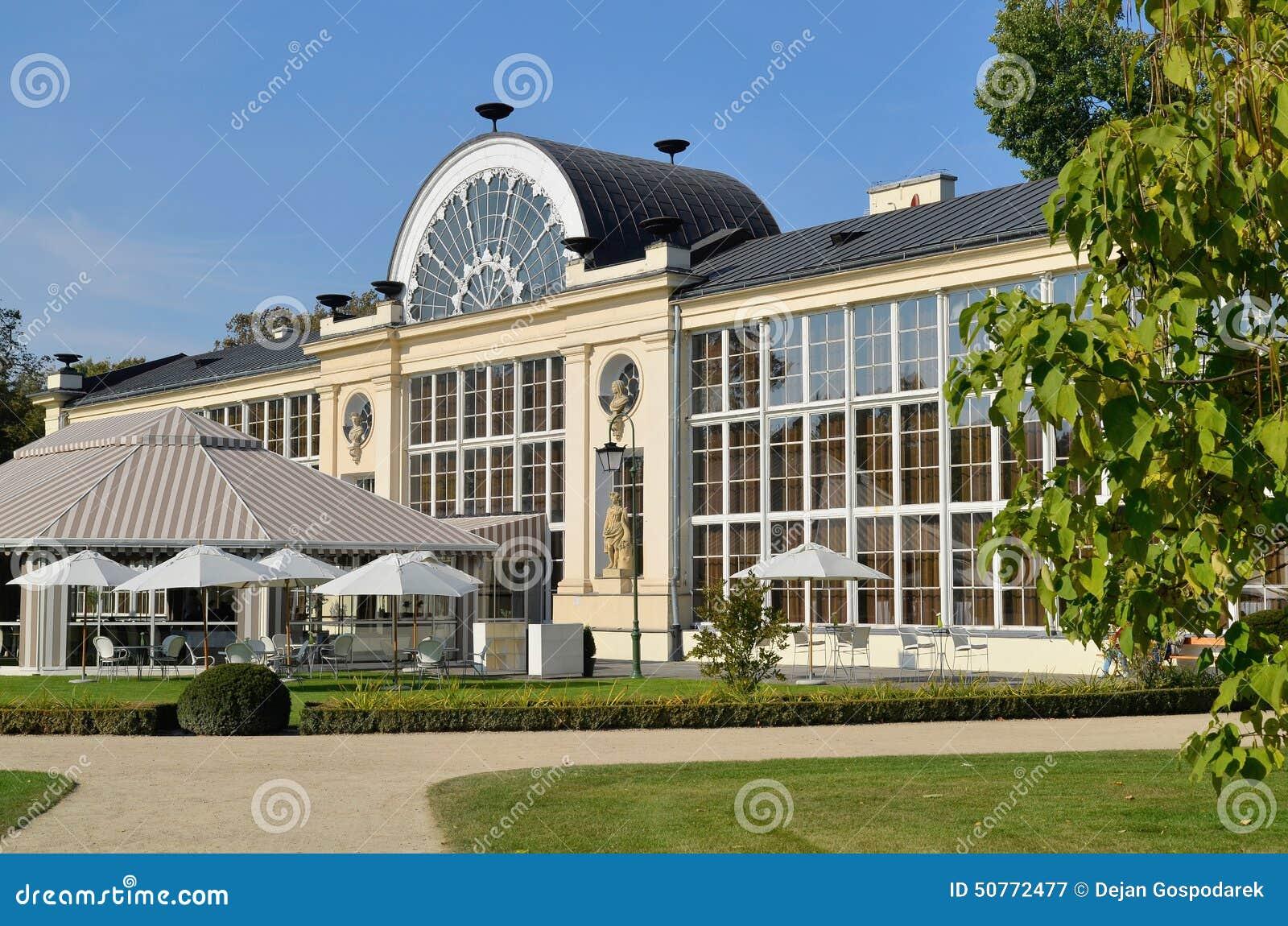 Nowa Oranżeria W Lazienki Parku W Warszawa Fotografia