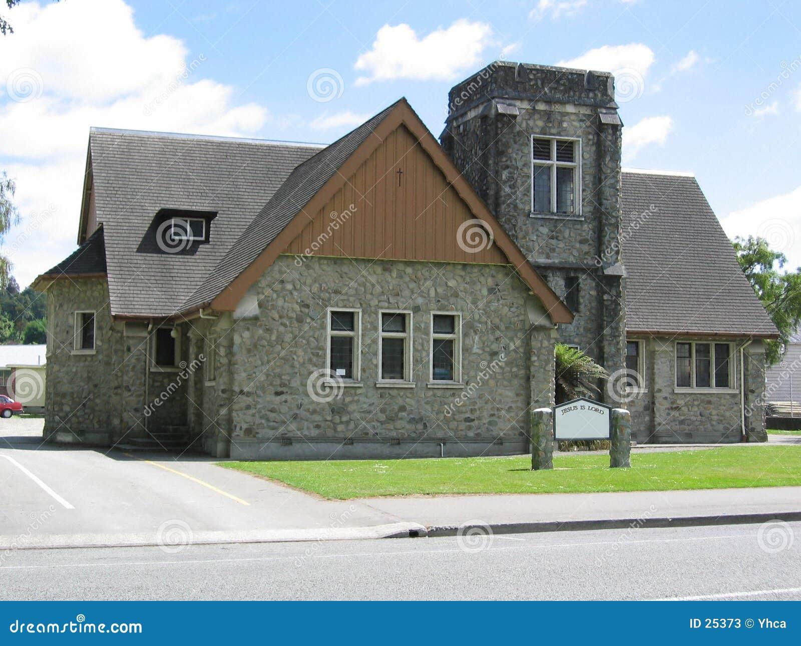Nowe Zelandii do kościoła