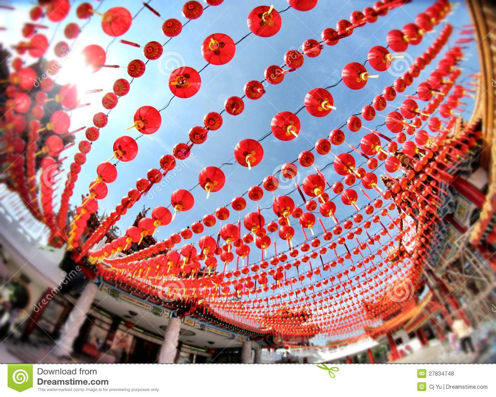 Nowego roku chiński Świętowanie