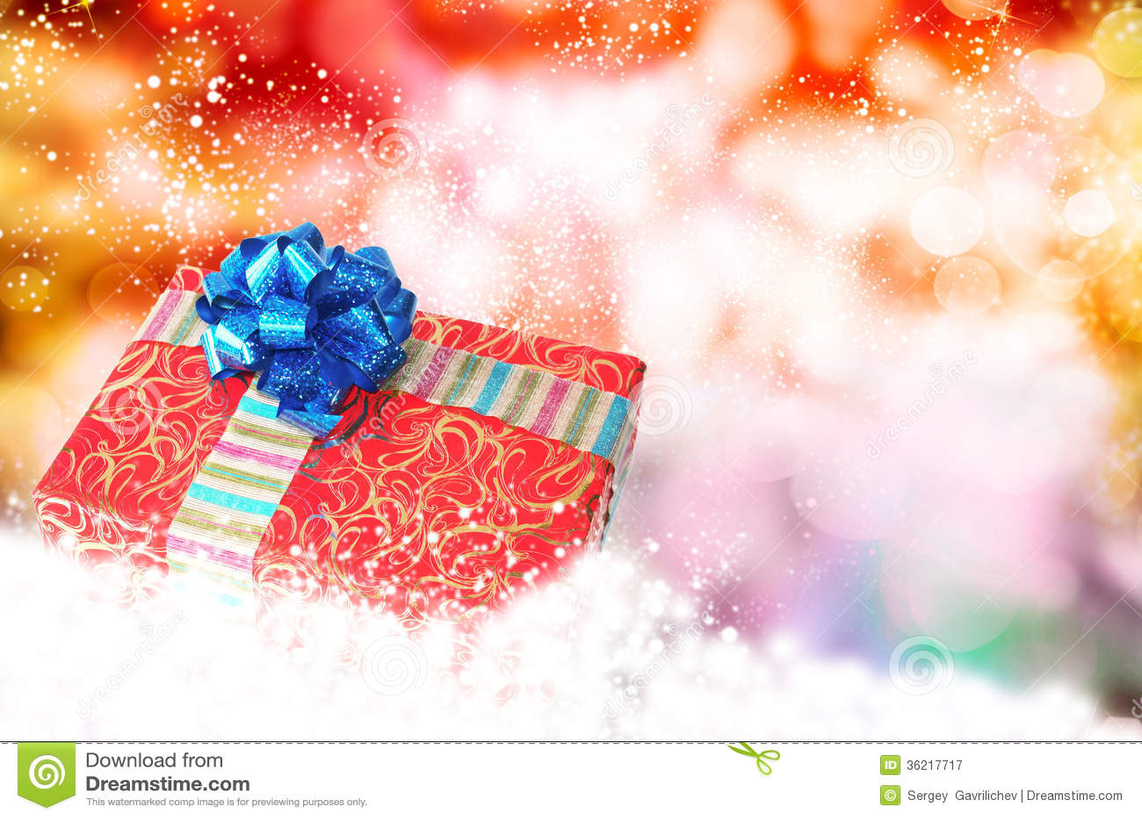 Nowego Roku Holiday.Christmas.Gift pudełko