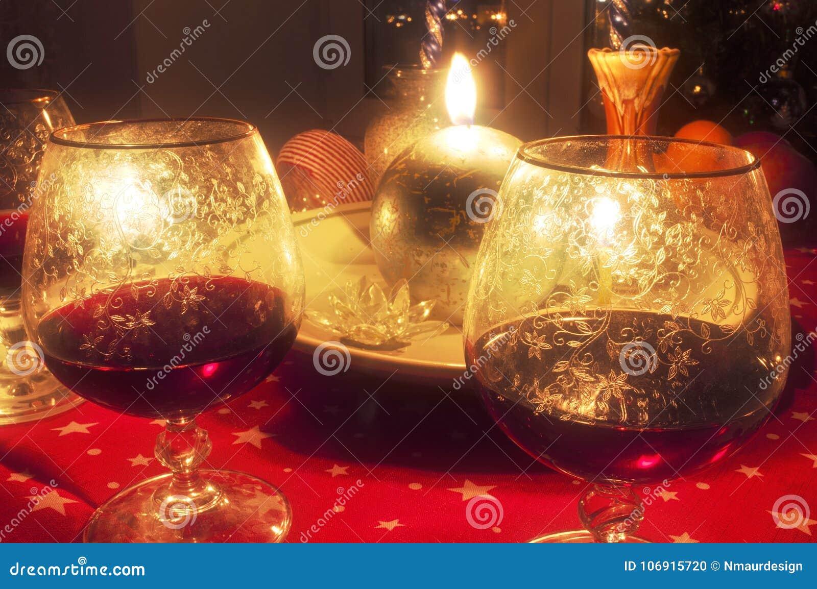 Nowego roku stół